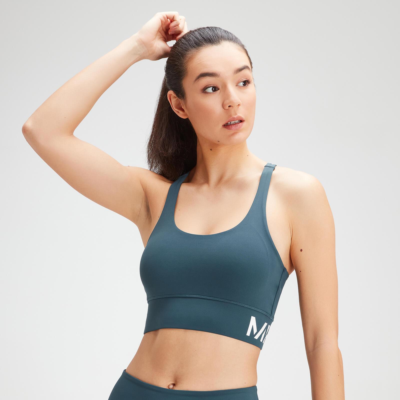Купить MP Women's Essentials Training Sports Bra - Deep Sea Blue - XXL, Myprotein International