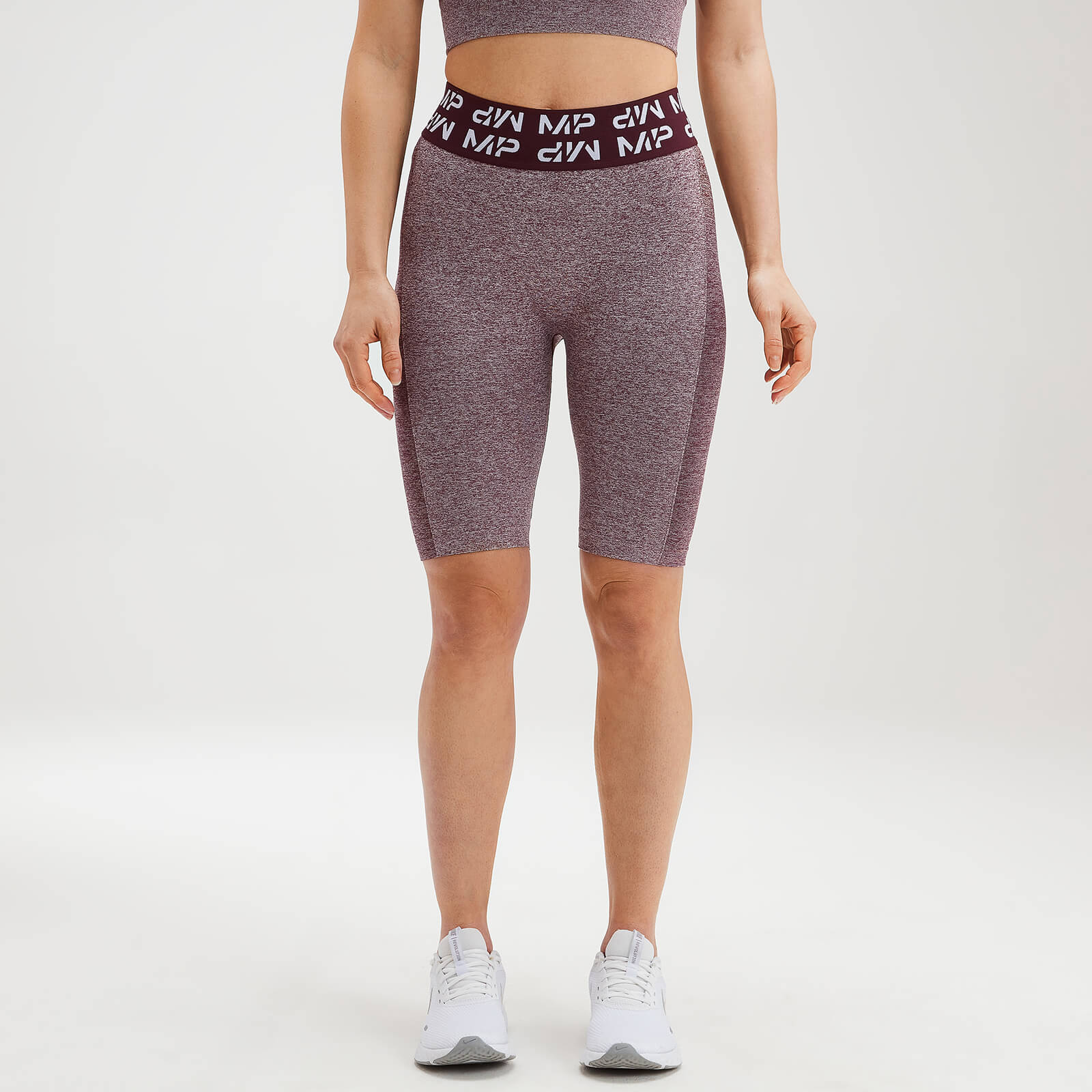Купить MP Women's Curve Cycling Shorts - Washed Oxblood - XXL, Myprotein International