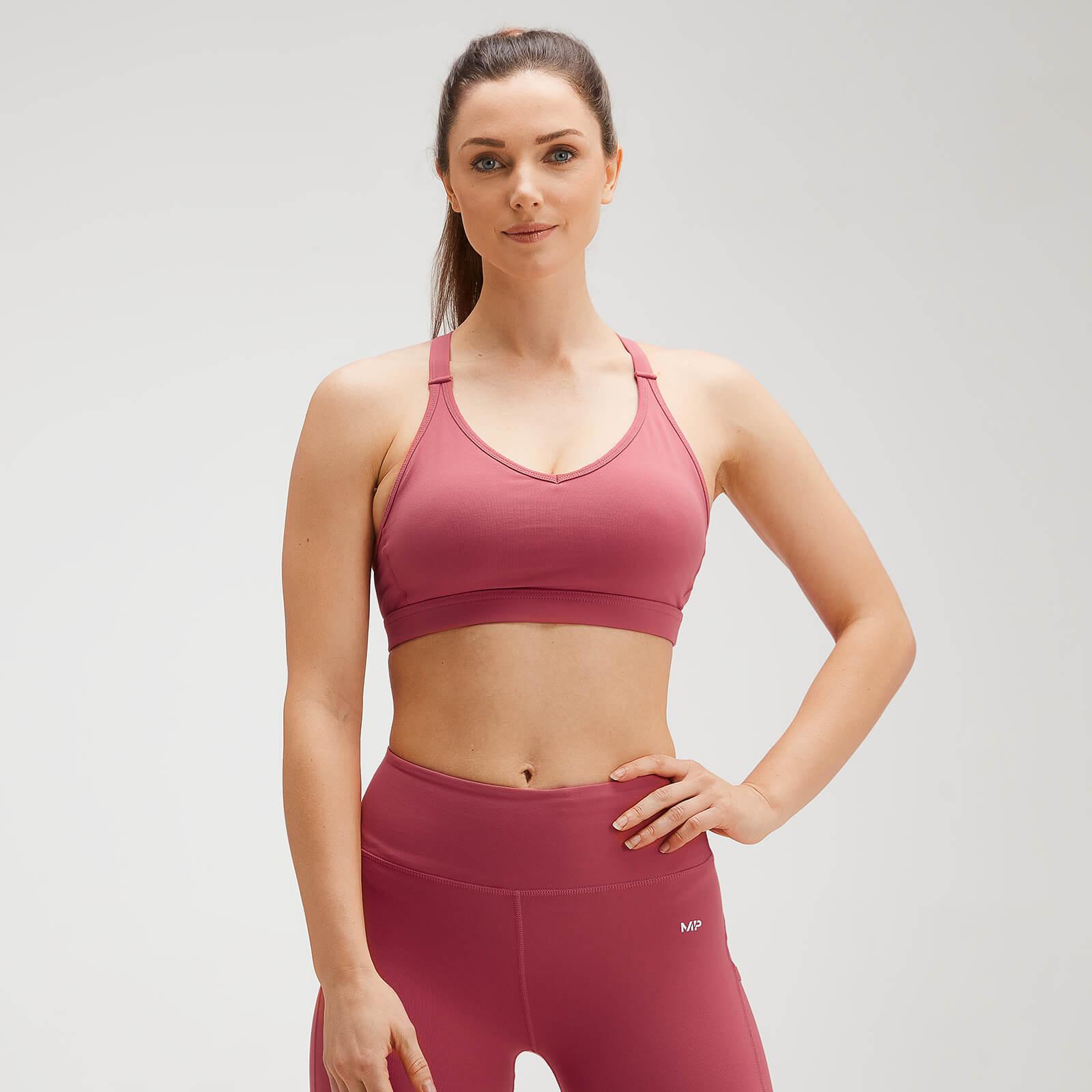 Купить MP Women's Power Mesh Sports Bra - Berry Pink - XXS, Myprotein International