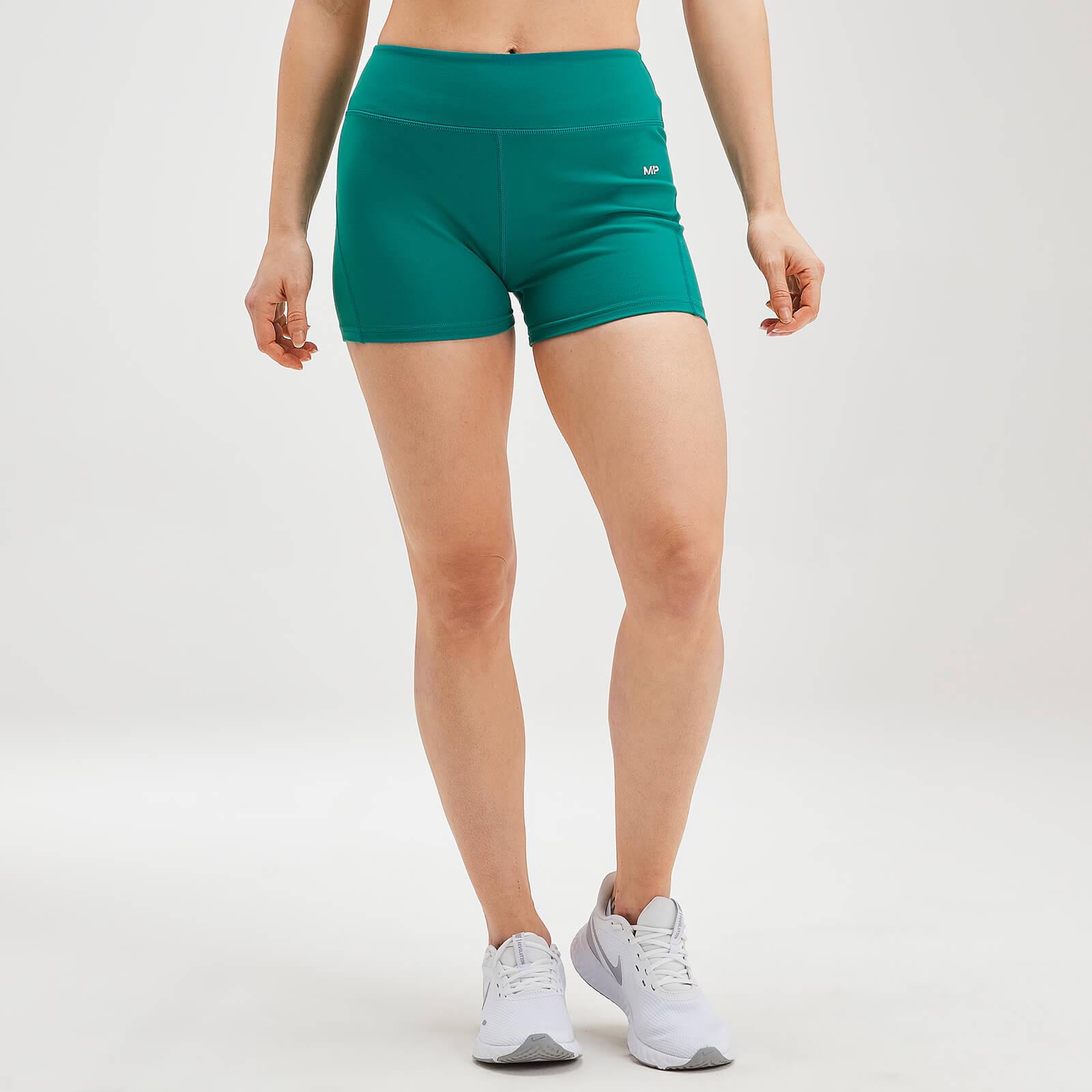 MP Women's Power Shorts - Energy Green - XXS
