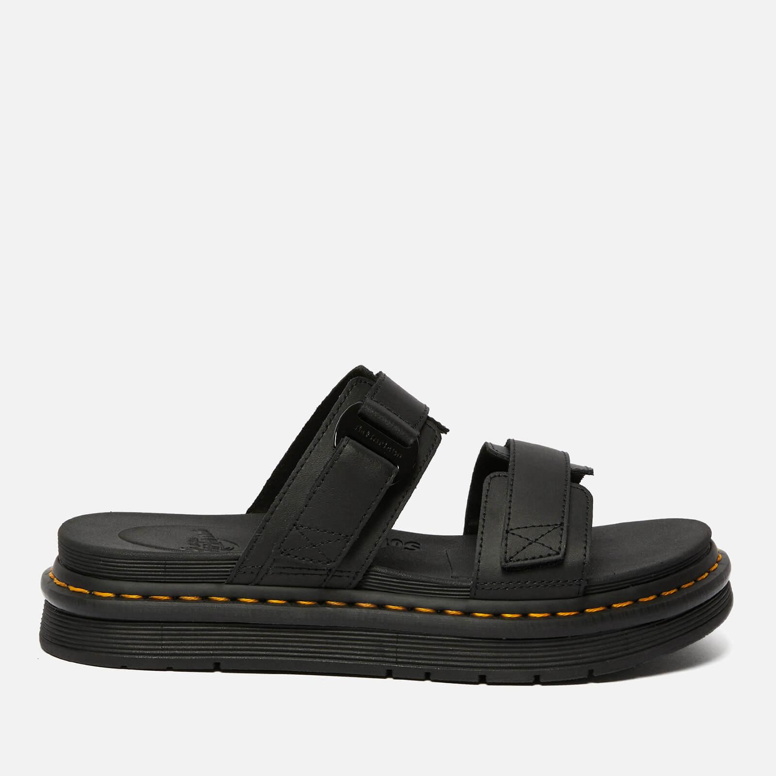 Dr. Martens Men's Chilton Hydro Leather Sandals - Black - UK 7