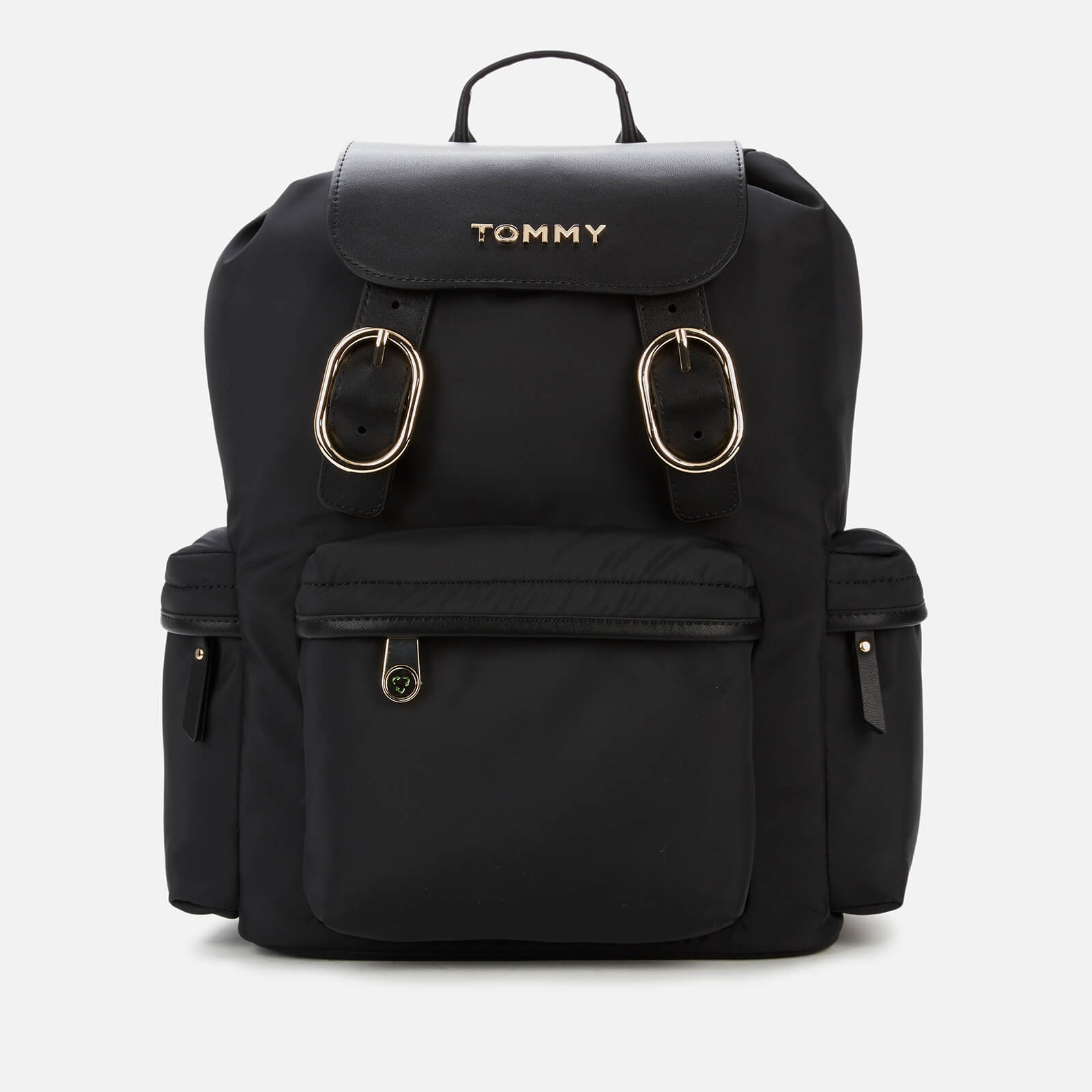 Tommy Hilfiger Women's Recycled Nylon Backpack - Black