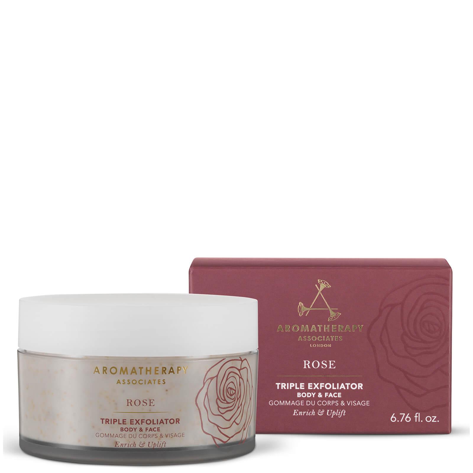 Купить Скраб для лица и тела Aromatherapy Associates Rose Triple Exfoliator 200 мл