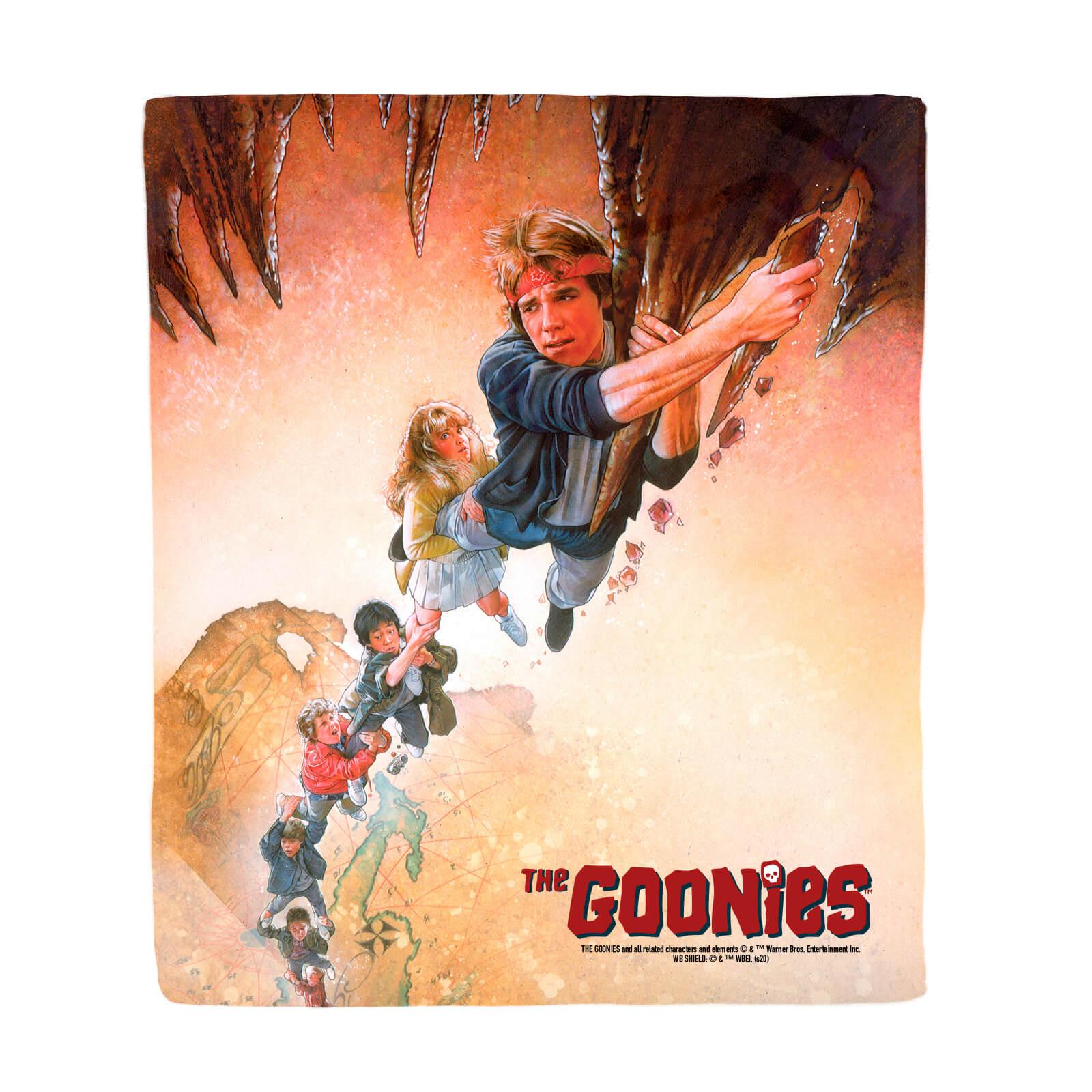 The Goonies Retro Poster Art Fleece Decke
