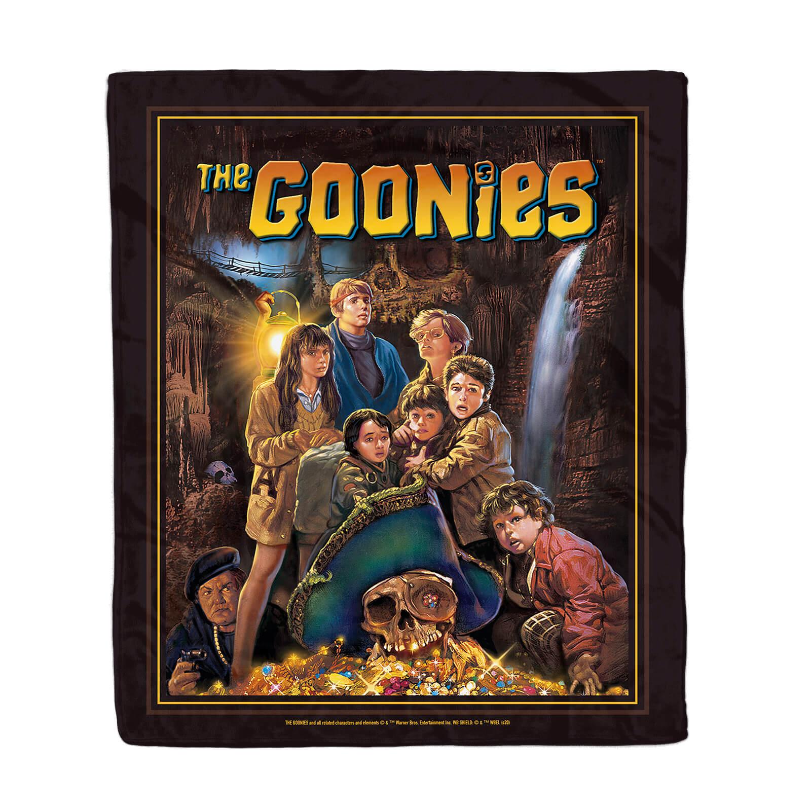 The Goonies Classic Cover Art Fleece Blanket