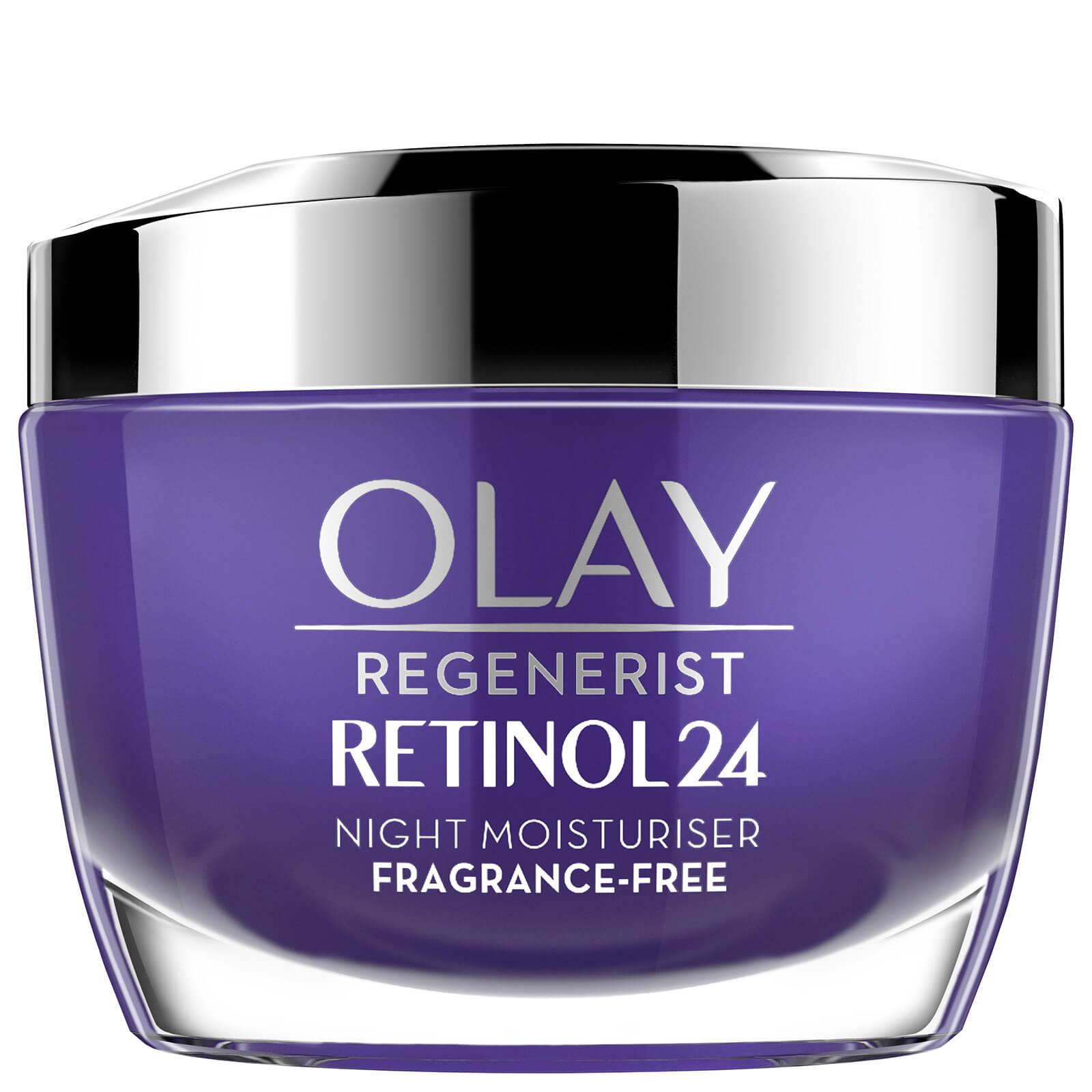 Купить Olay Retinol 24 Fragrance Free Night Face Cream for Smooth and Glowing Skin 50ml
