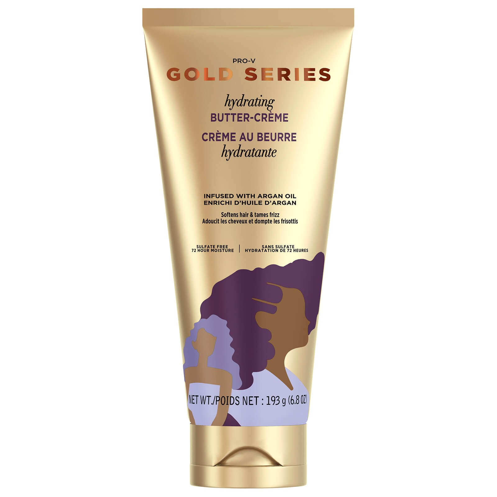 Купить Pantene Gold Series Hydrating Butter Crème Leave-in Hair Conditioner 193g