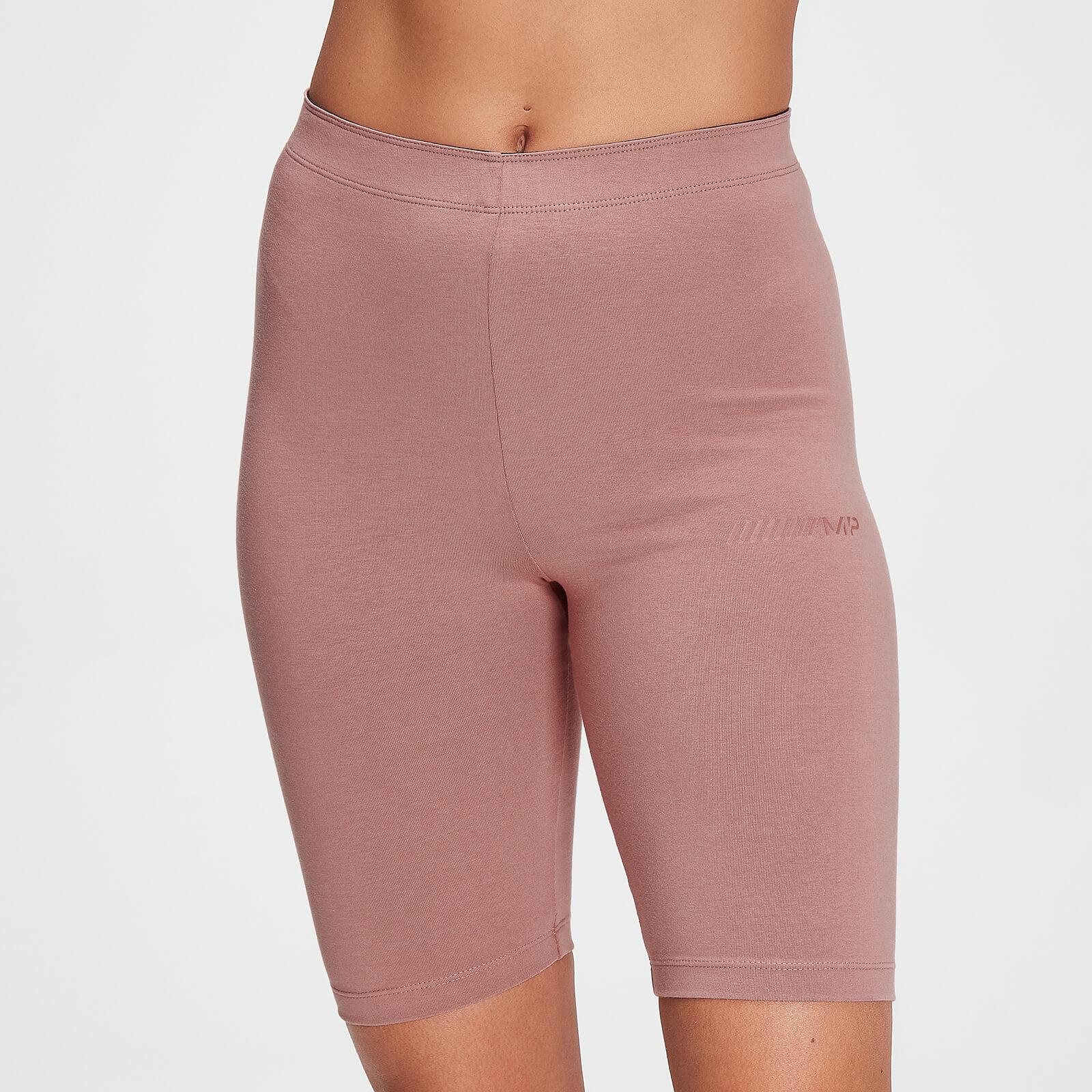 MP Damen Tonal Graphic Radlerhose – Washed Pink - XXS