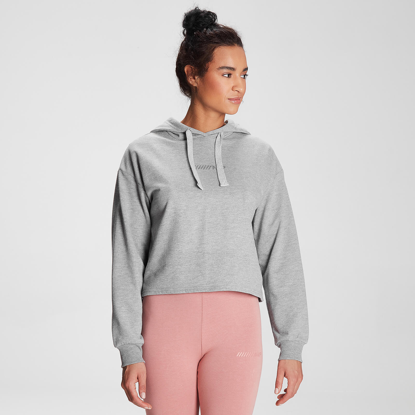 Sweat à capuche MP Tonal Graphic pour femmes – Gris chiné - XL