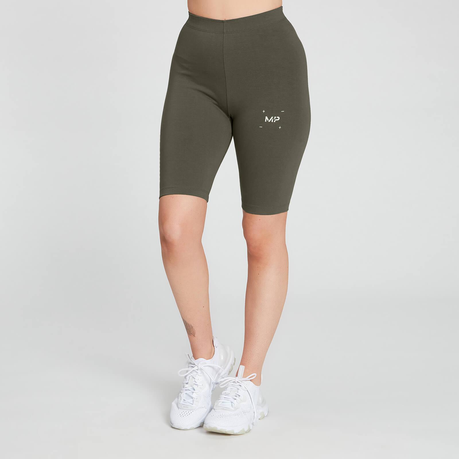 Купить MP Women's Central Graphic Cycling Shorts - Dark Olive - XXS, Myprotein International