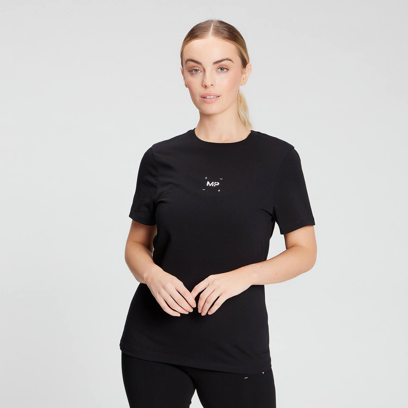 Купить MP Women's Central Graphic T-Shirt - Black - XXS, Myprotein International