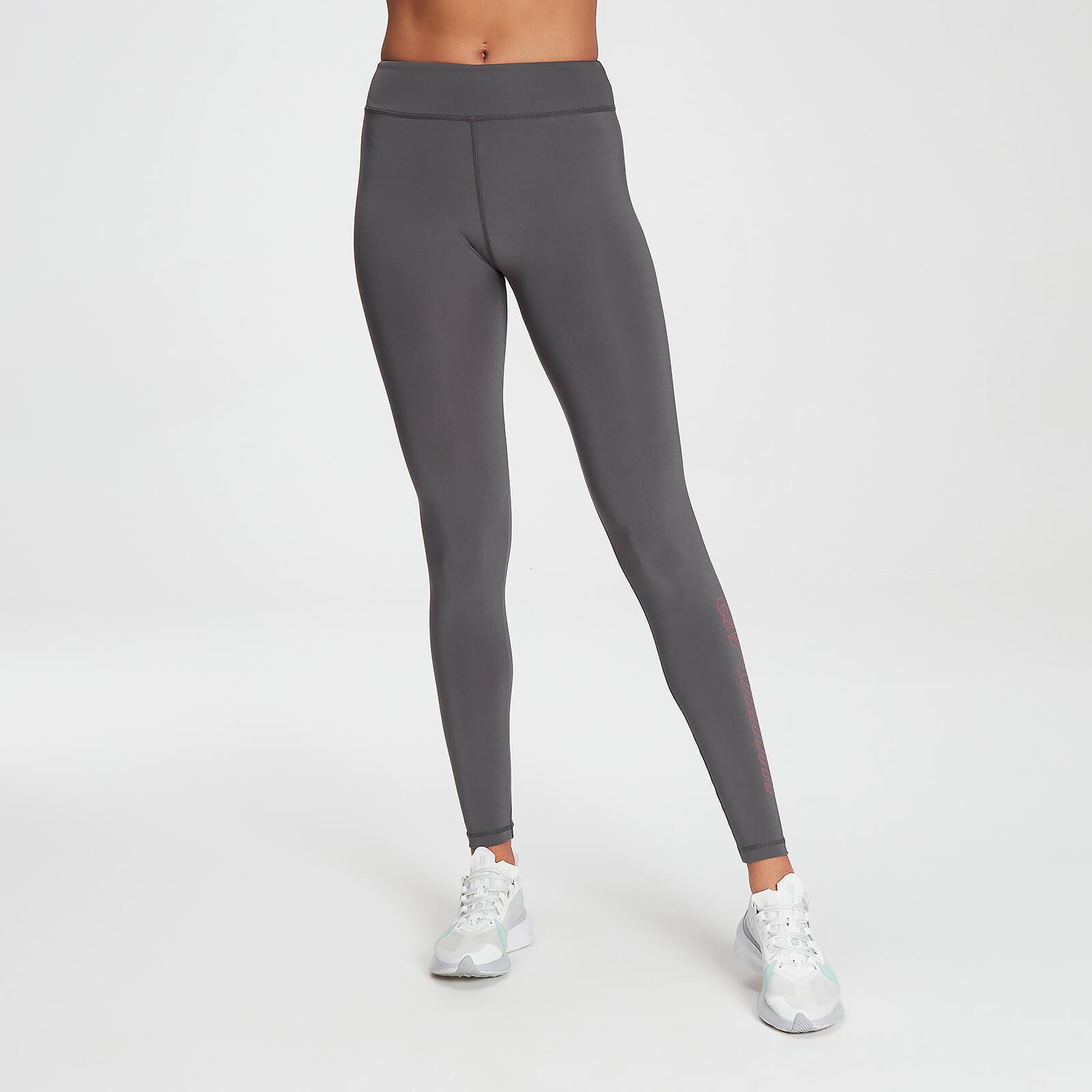 Legging d'entraînement MP Branded pour femmes – Carbone - XXS