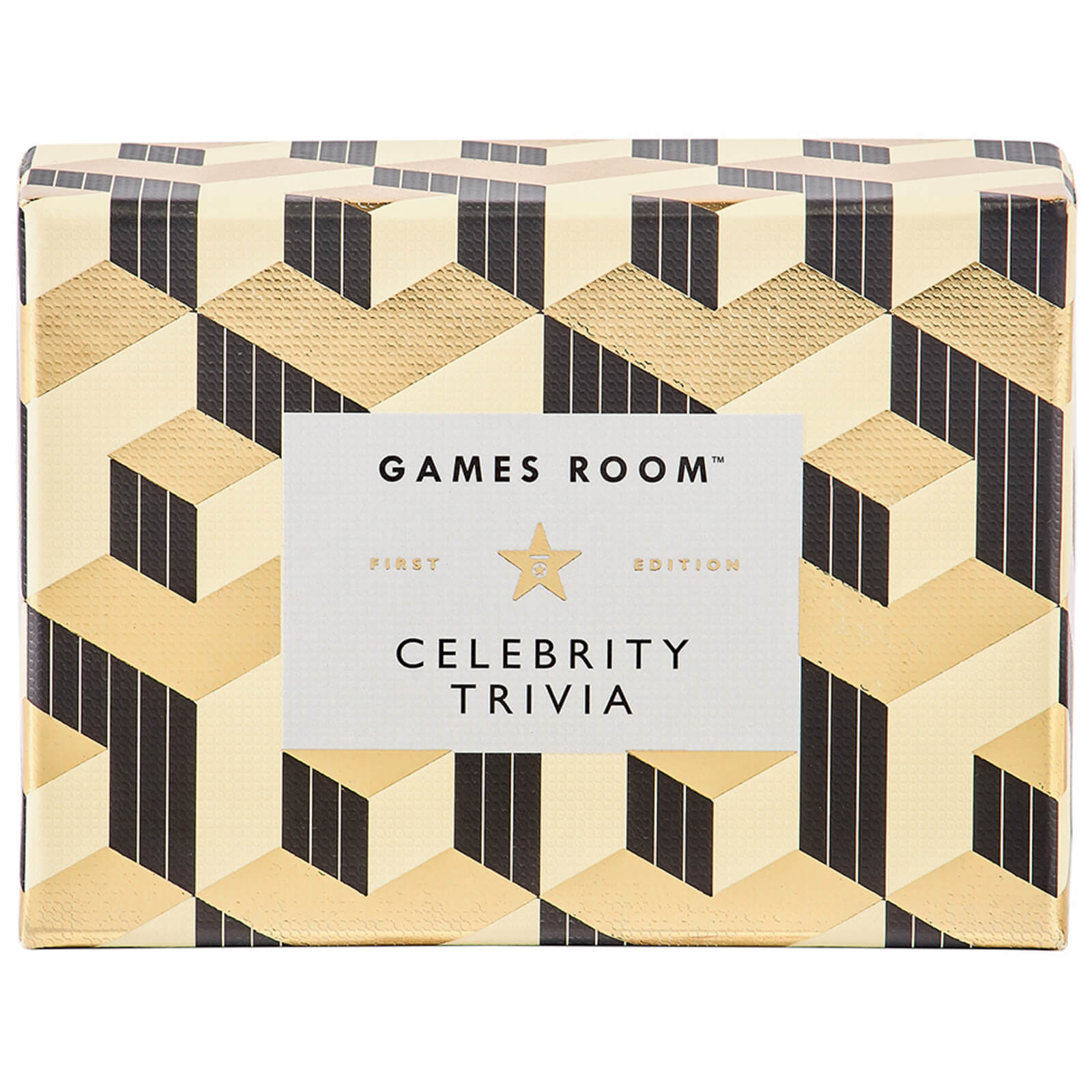 Image of The Games Room Celebrity Trivia Cards