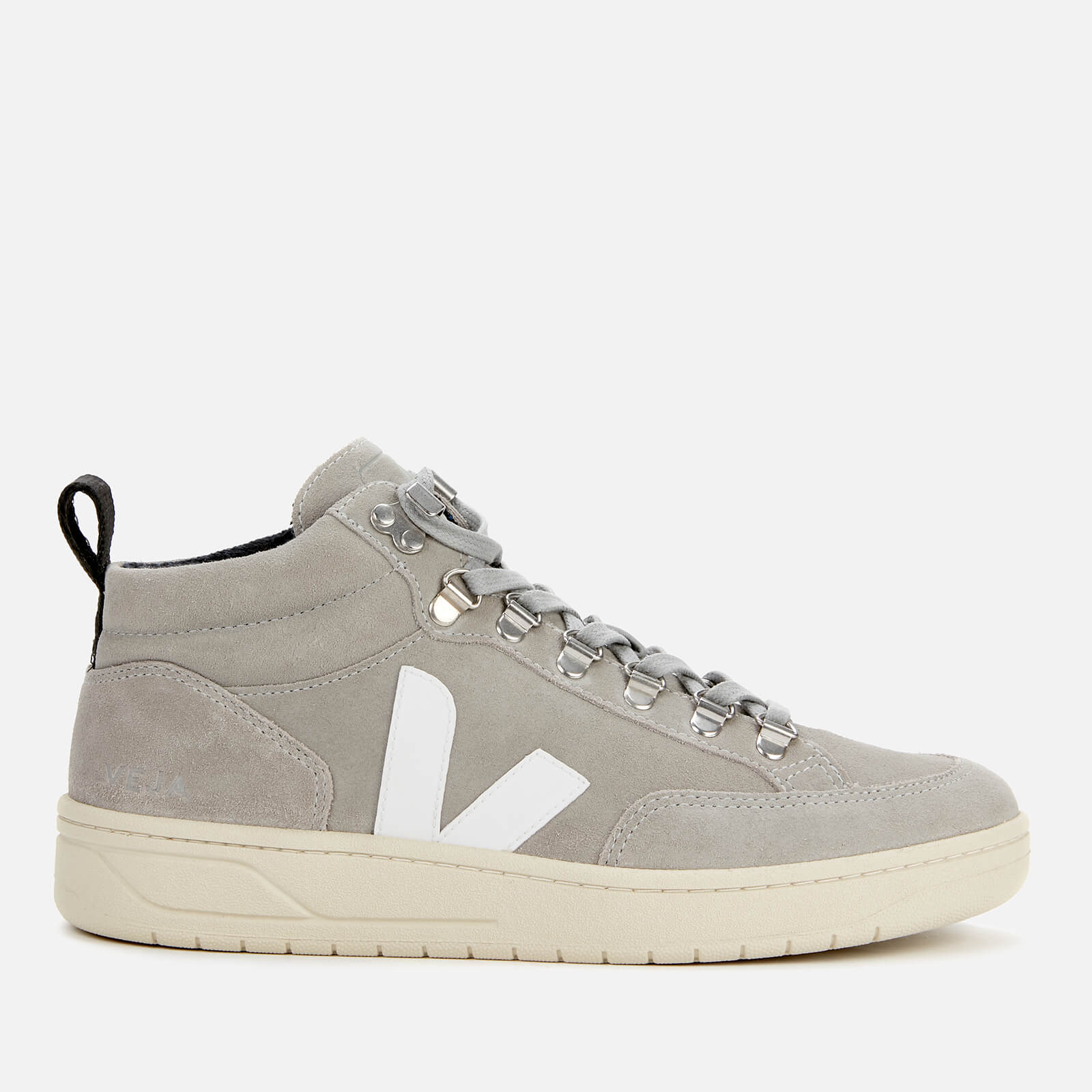 Veja Women's Roraima Suede Hiking Style Boots - Oxford Grey/White - Uk 2
