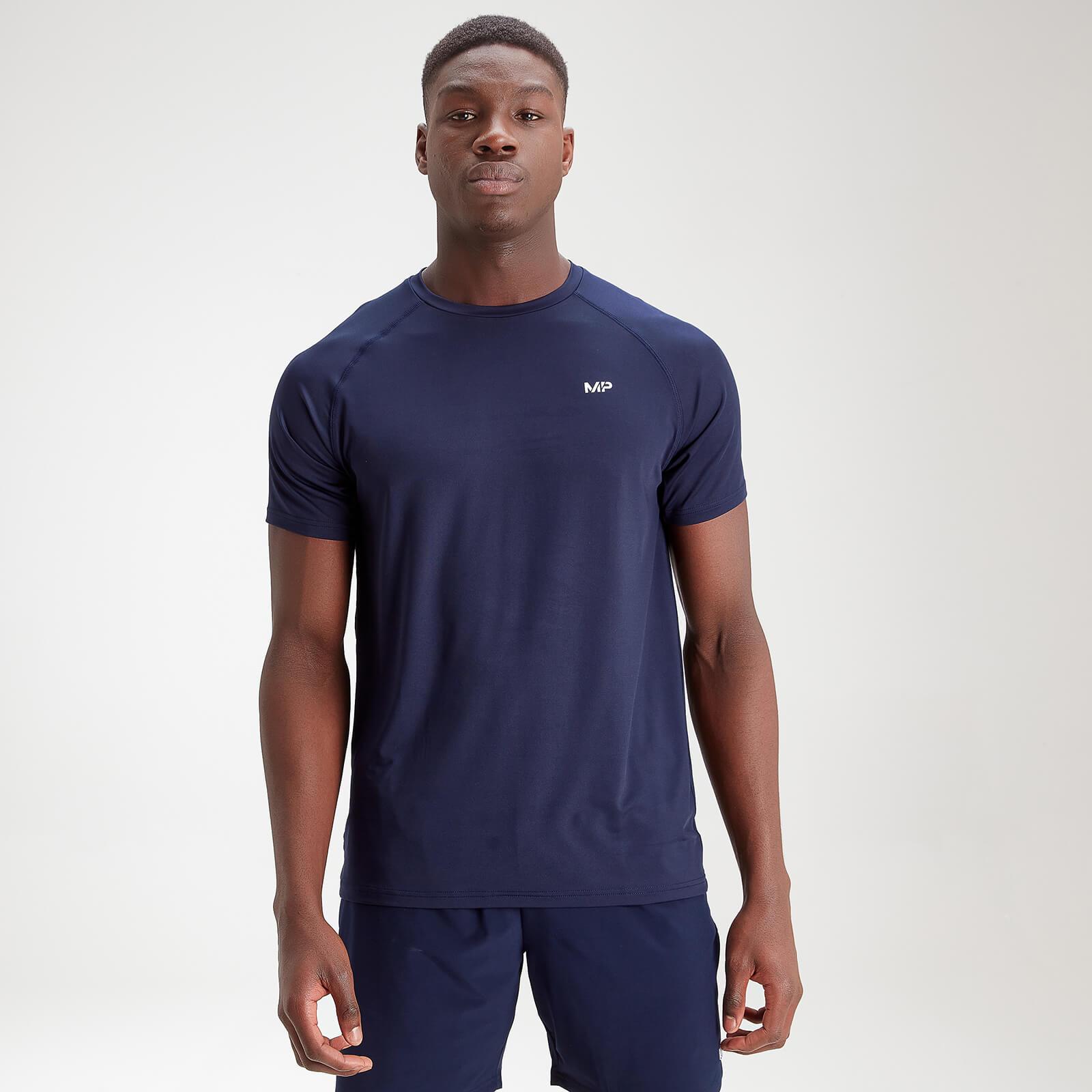 Купить MP Men's Essentials Training Short Sleeve T-Shirt - Navy - XXXL, Myprotein International