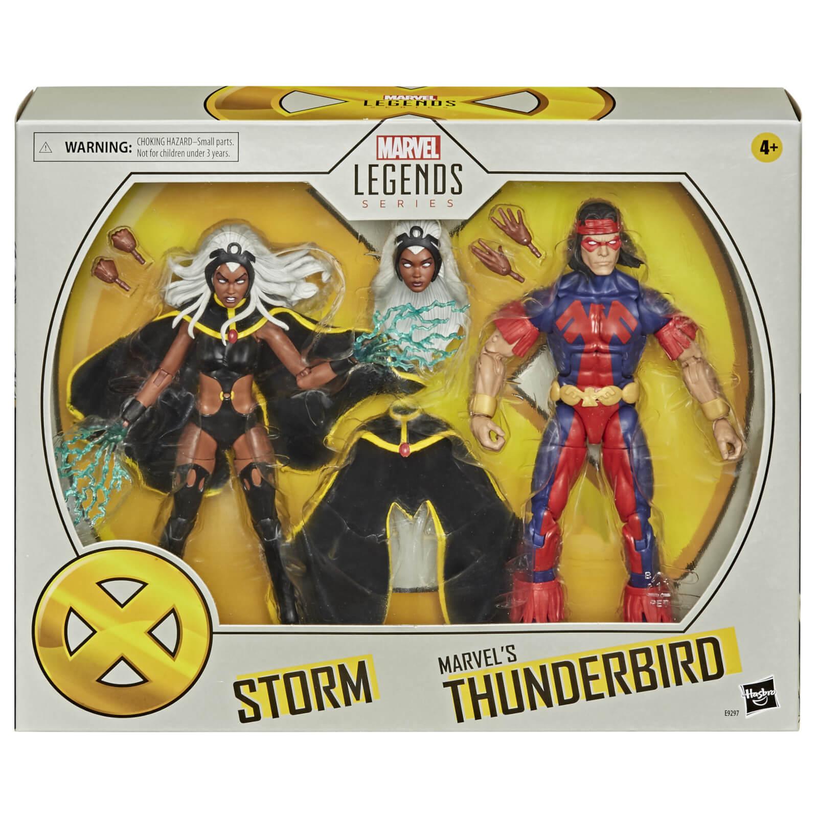 Image of Hasbro Marvel Legends X-Men Storm & Thunderbird 2-Pack Action Figure