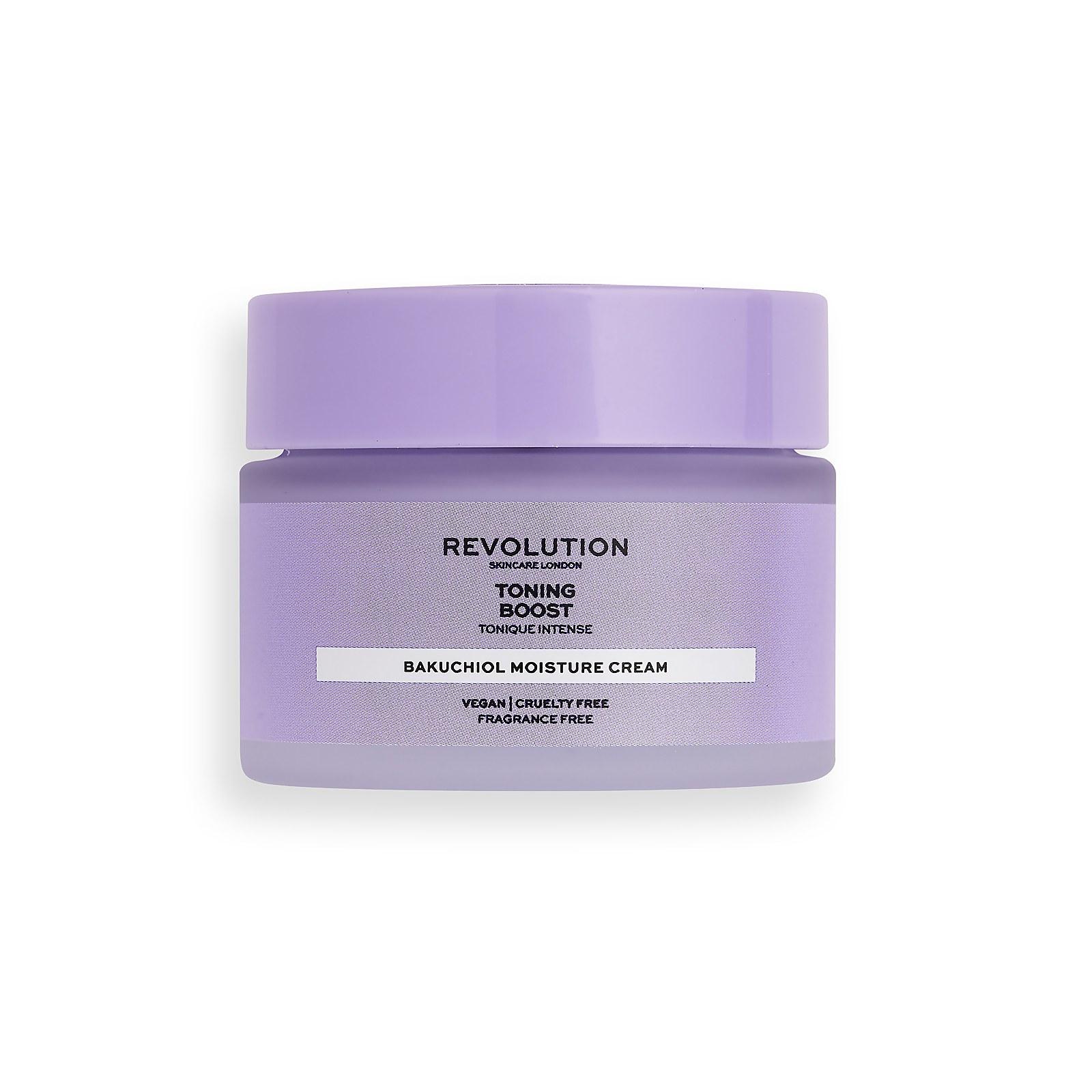 Купить Revolution Skincare Toning Boost Moisture Cream with Bakuchiol 50ml