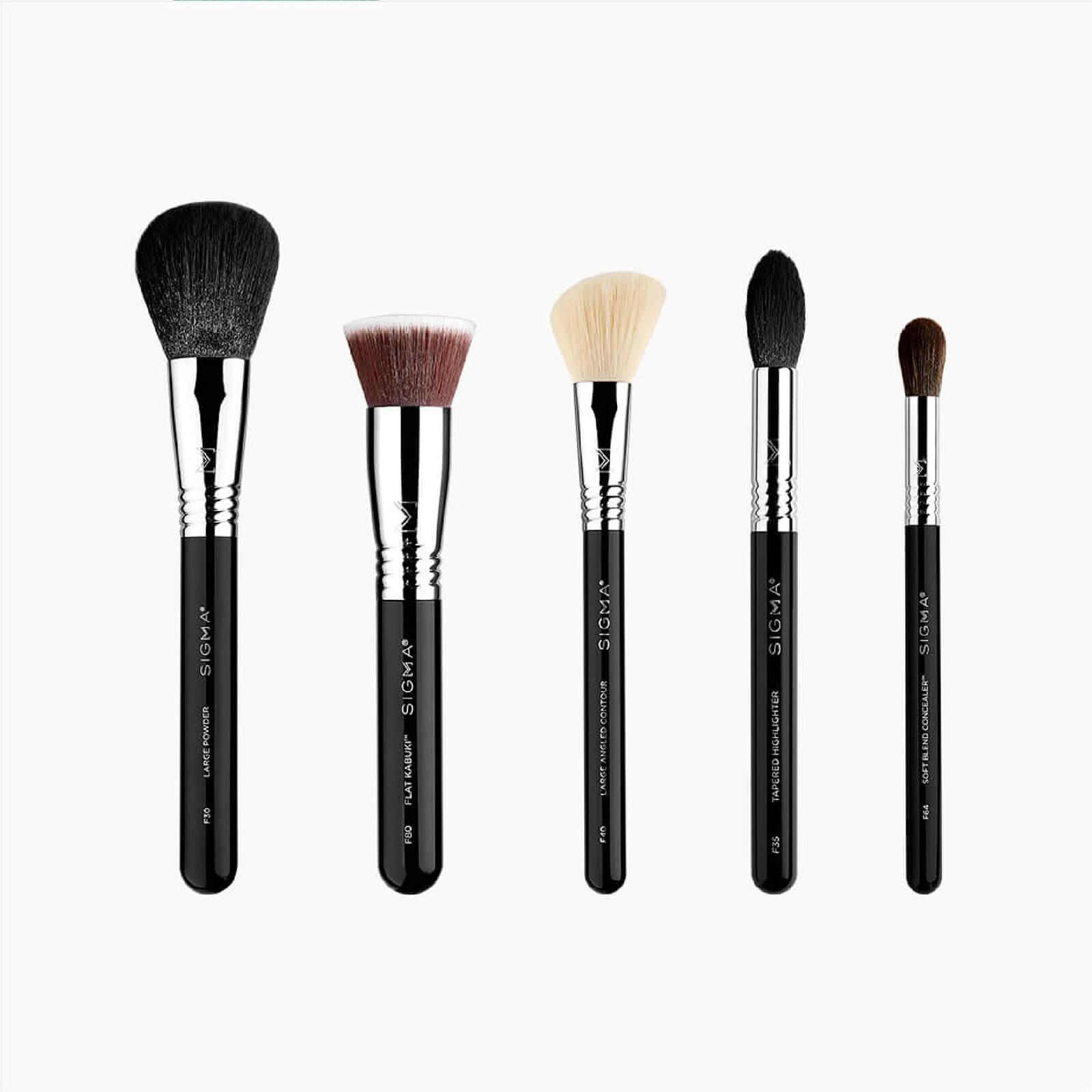 Sigma Classic Face Brush Set (Worth £100.63)
