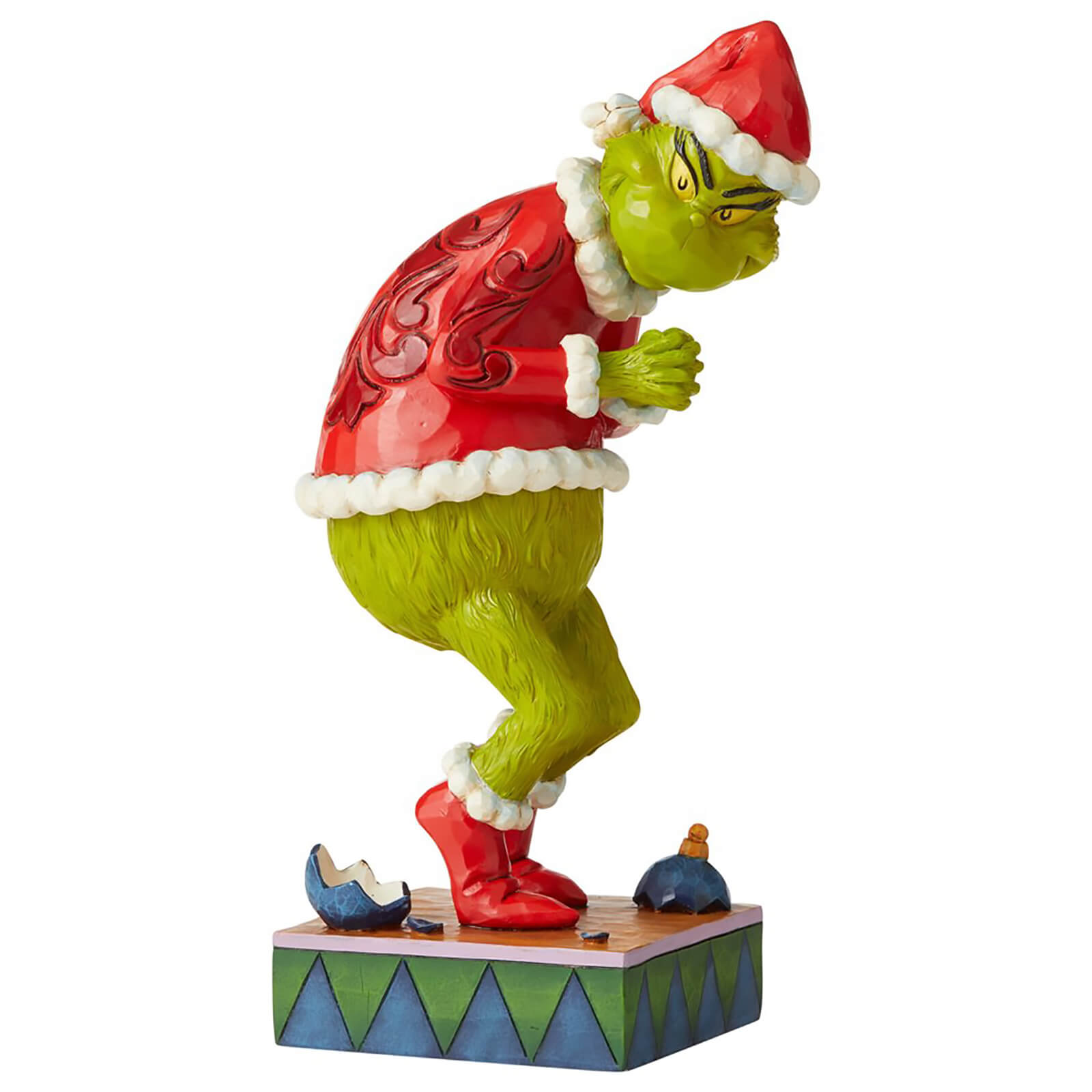 Image of The Grinch By Jim Shore Sneaky Grinch Fig