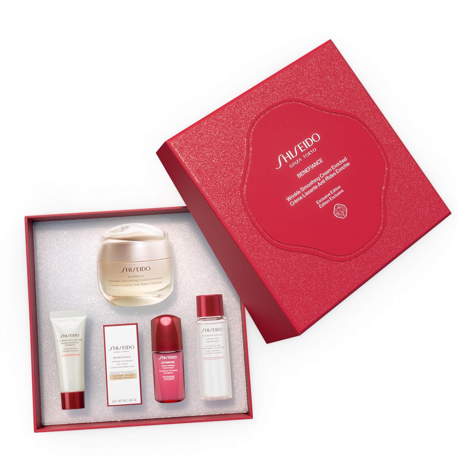Shiseido Benefiance Wrinkle Smoothing Cream Enriched Holiday Kit (Worth £119.81)