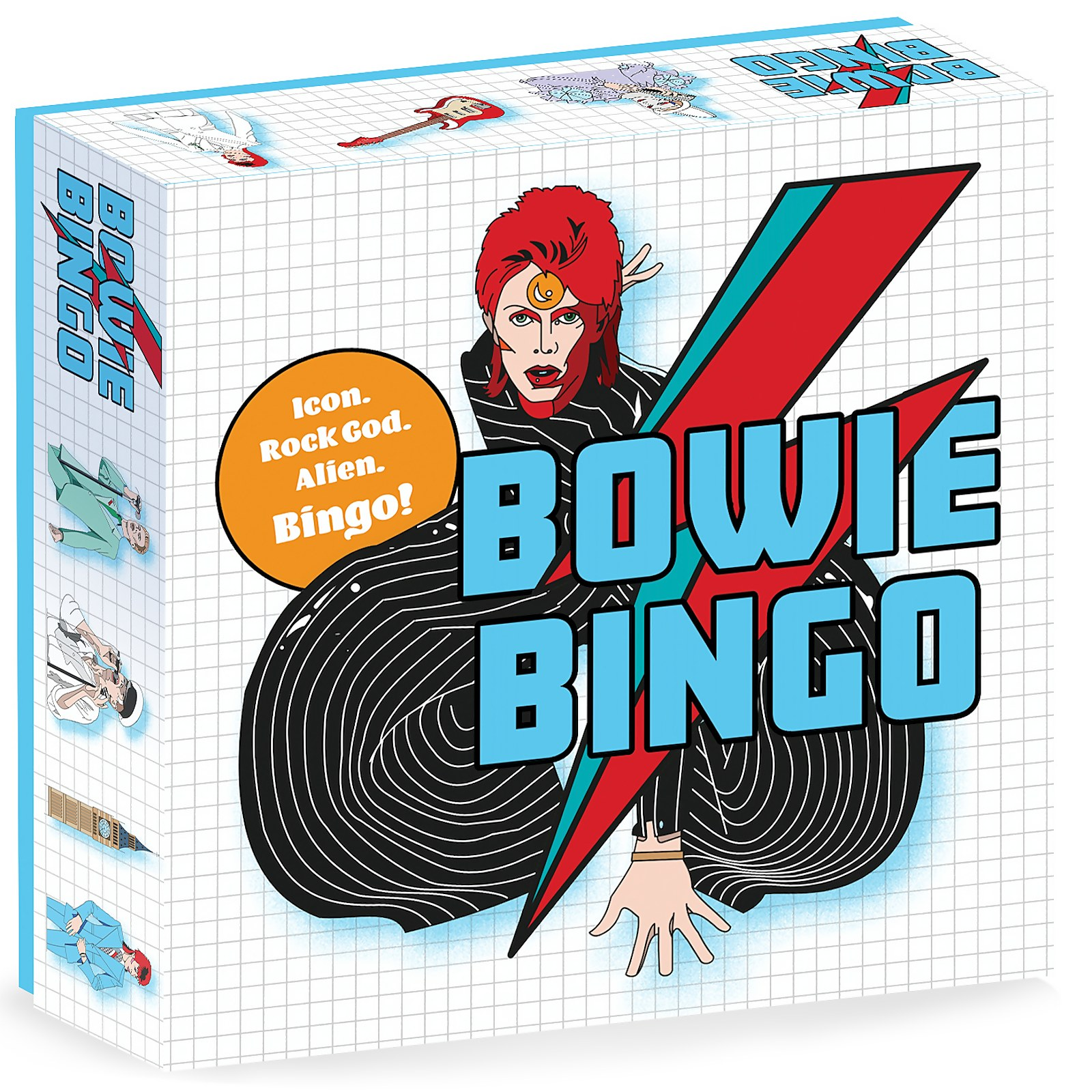 Image of Bowie Bingo Game