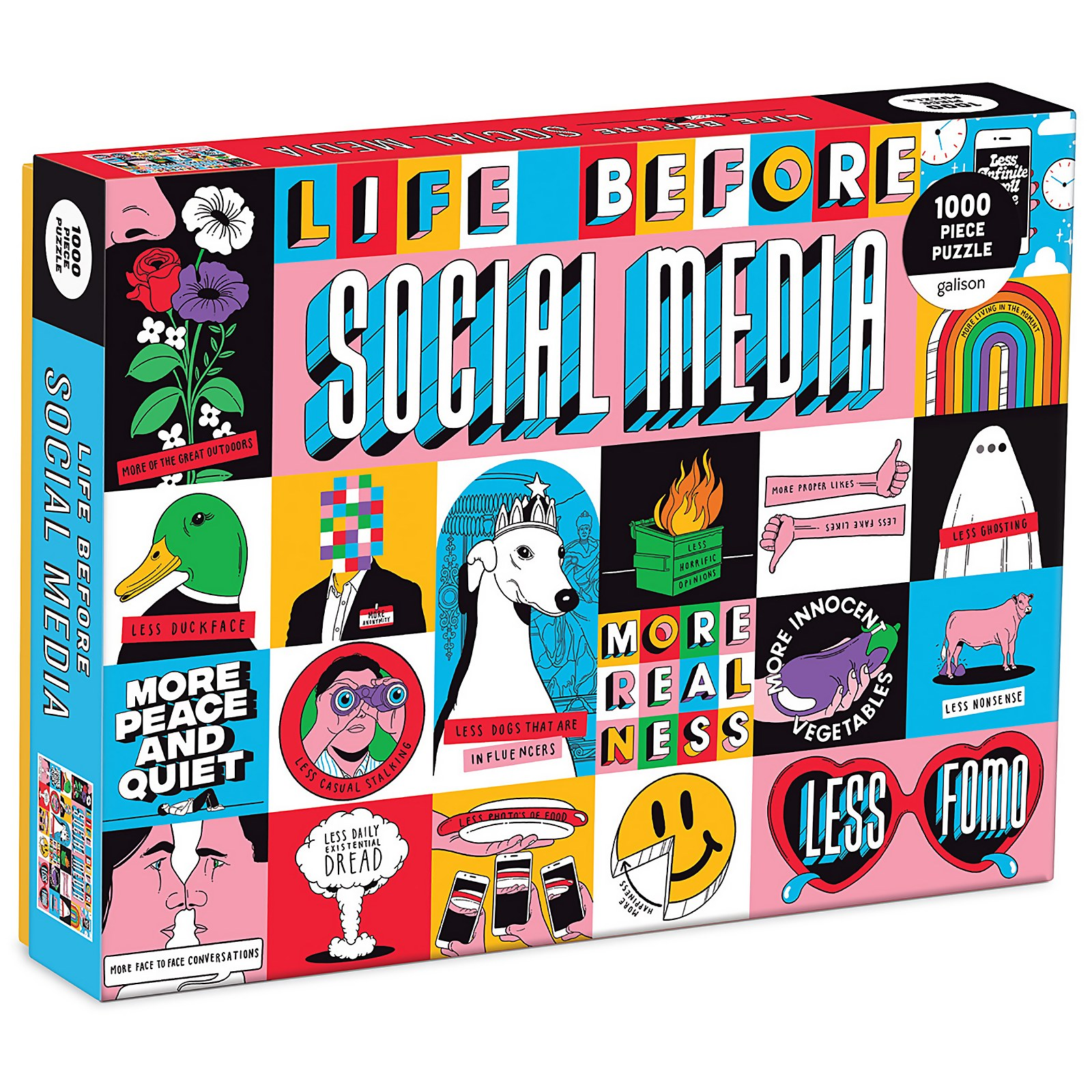 Image of Life Before Social Media Jigsaw Puzzle