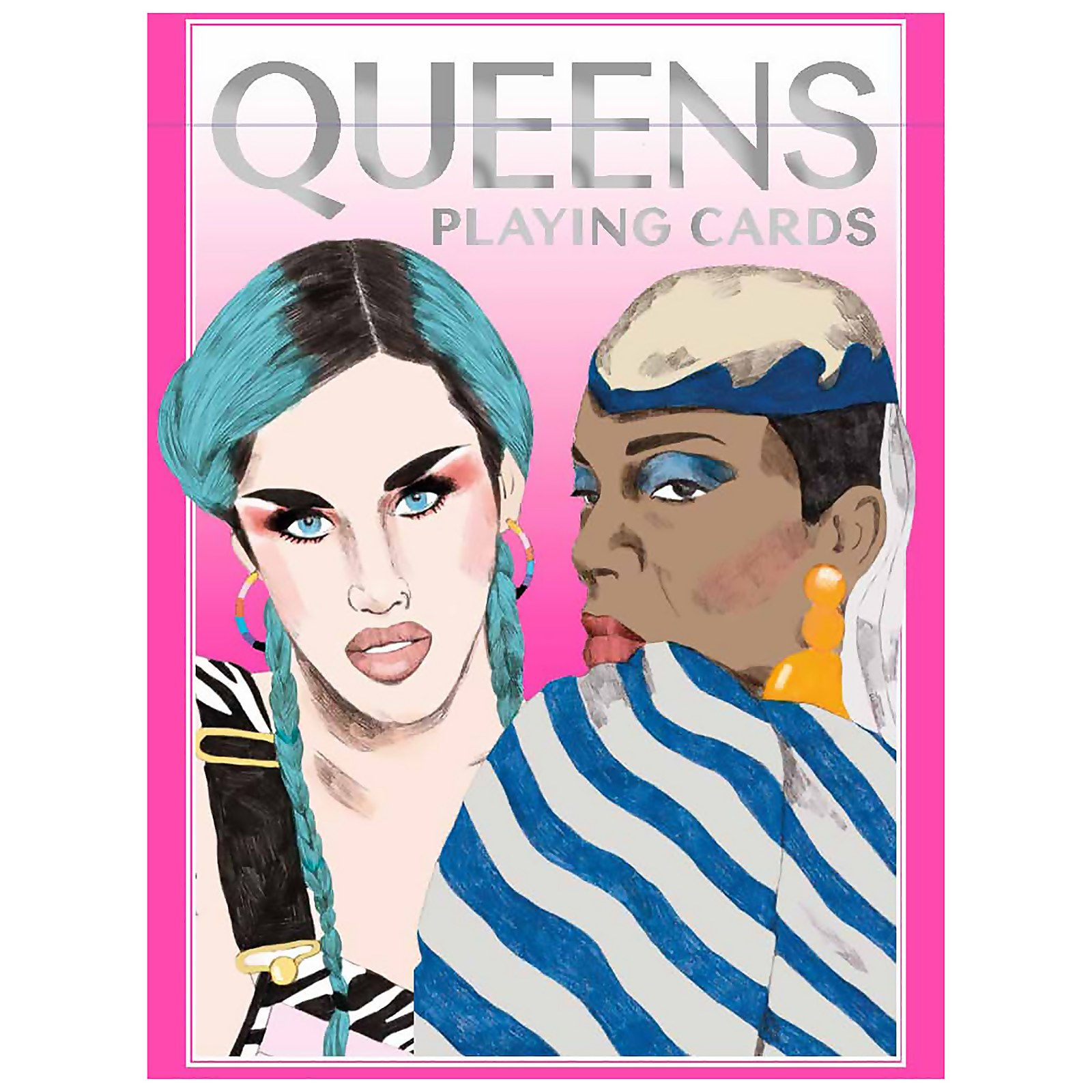 Image of Queens Drag Queen Playing Cards