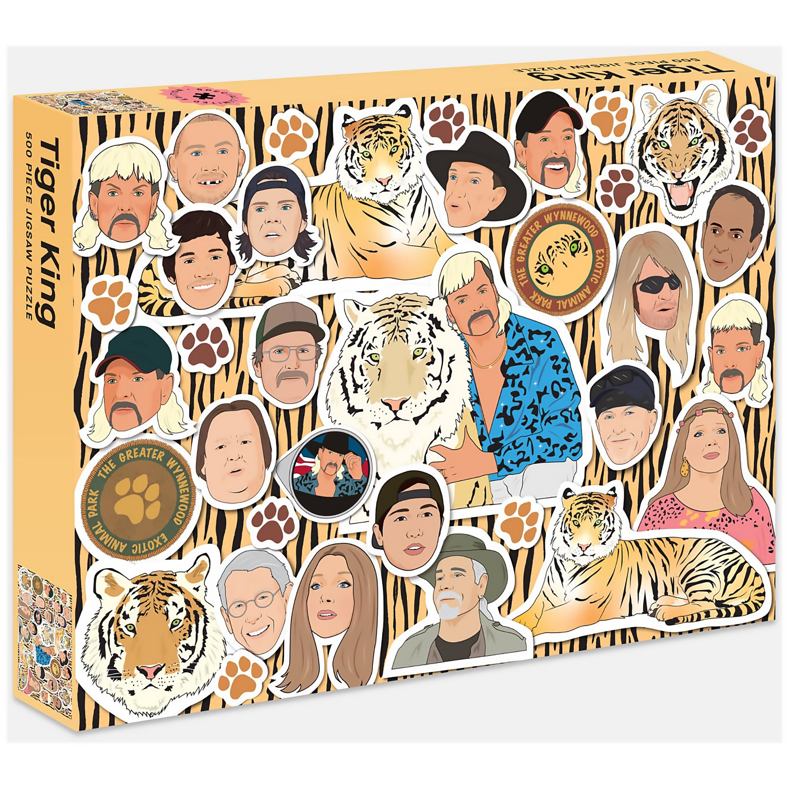 Image of Tiger King Jigsaw Puzzle