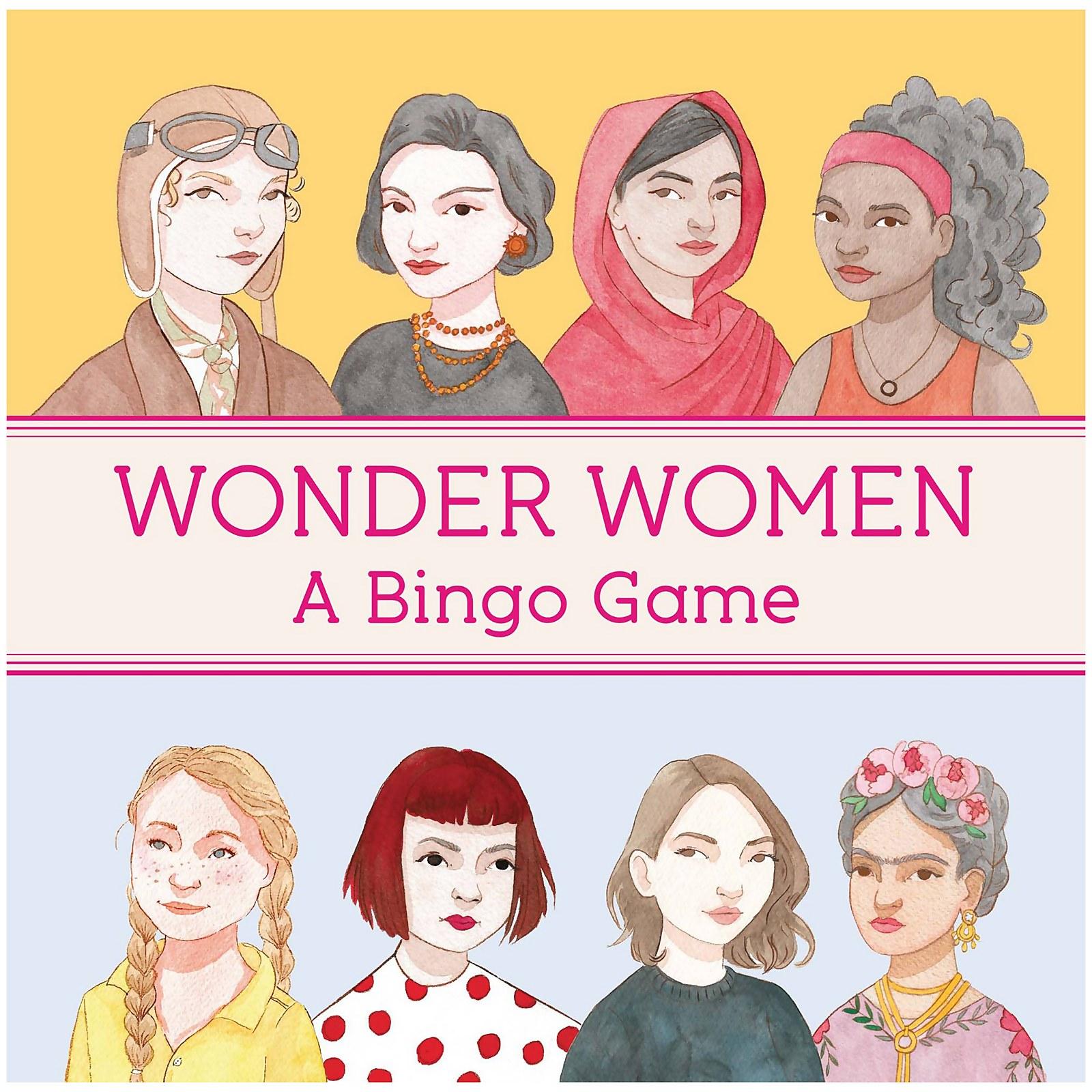 Image of Wonder Women Bingo Game