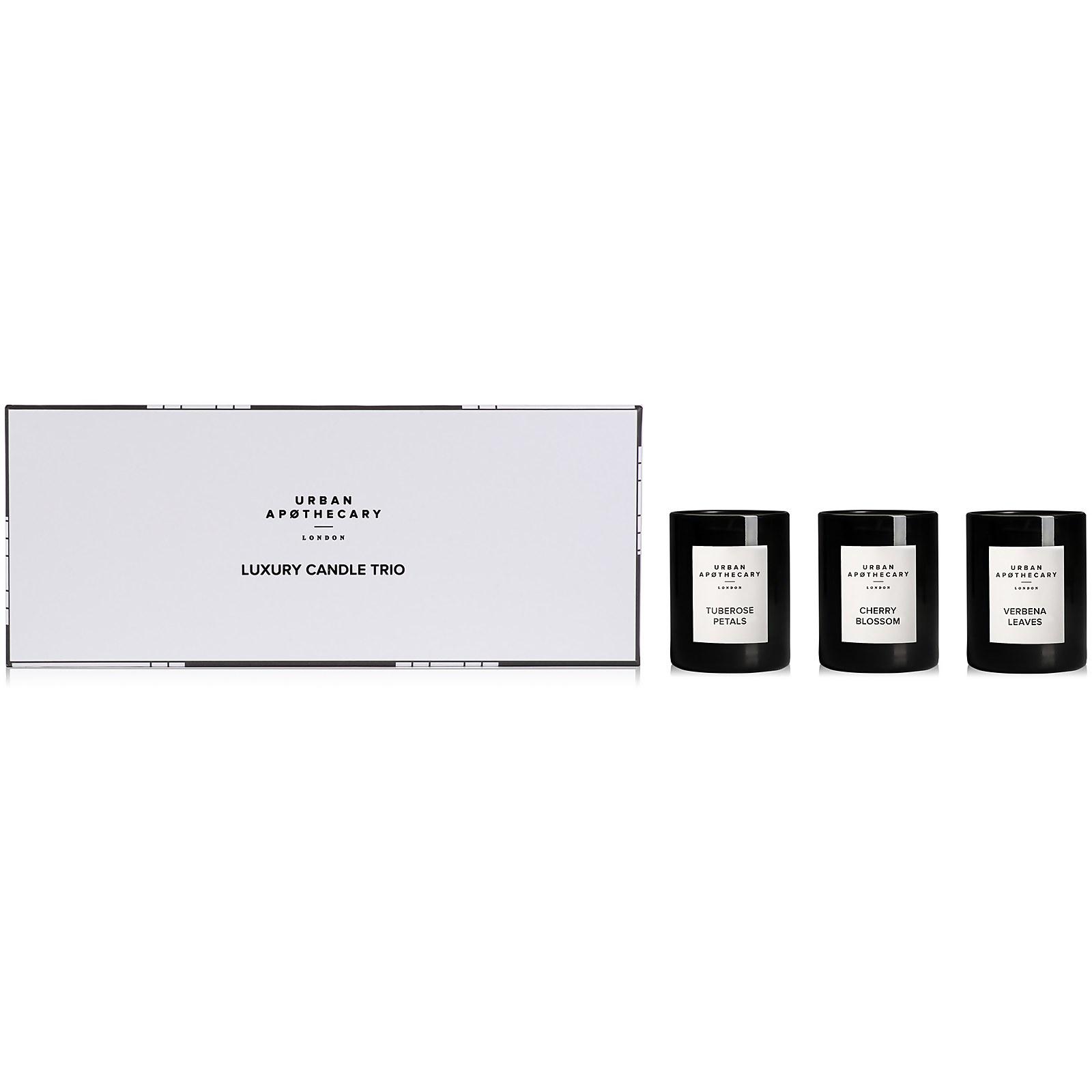 Urban Apothecary Luxury Candle Trio Gift Set - Tuberose Petals - 70g
