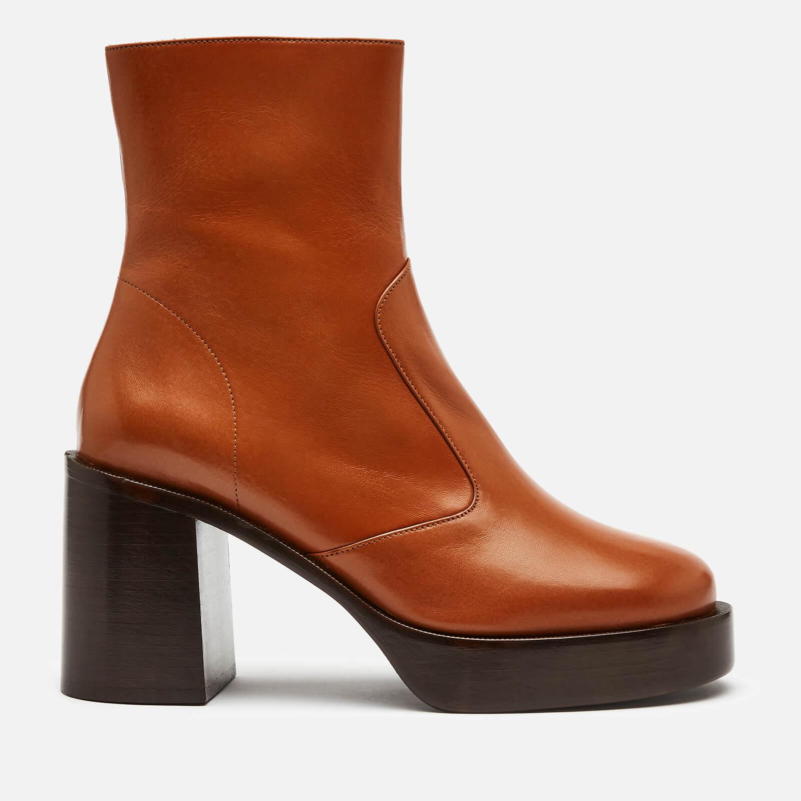 Simon Miller Women's Low Raid Heeled Boots - Toffee - Uk 5