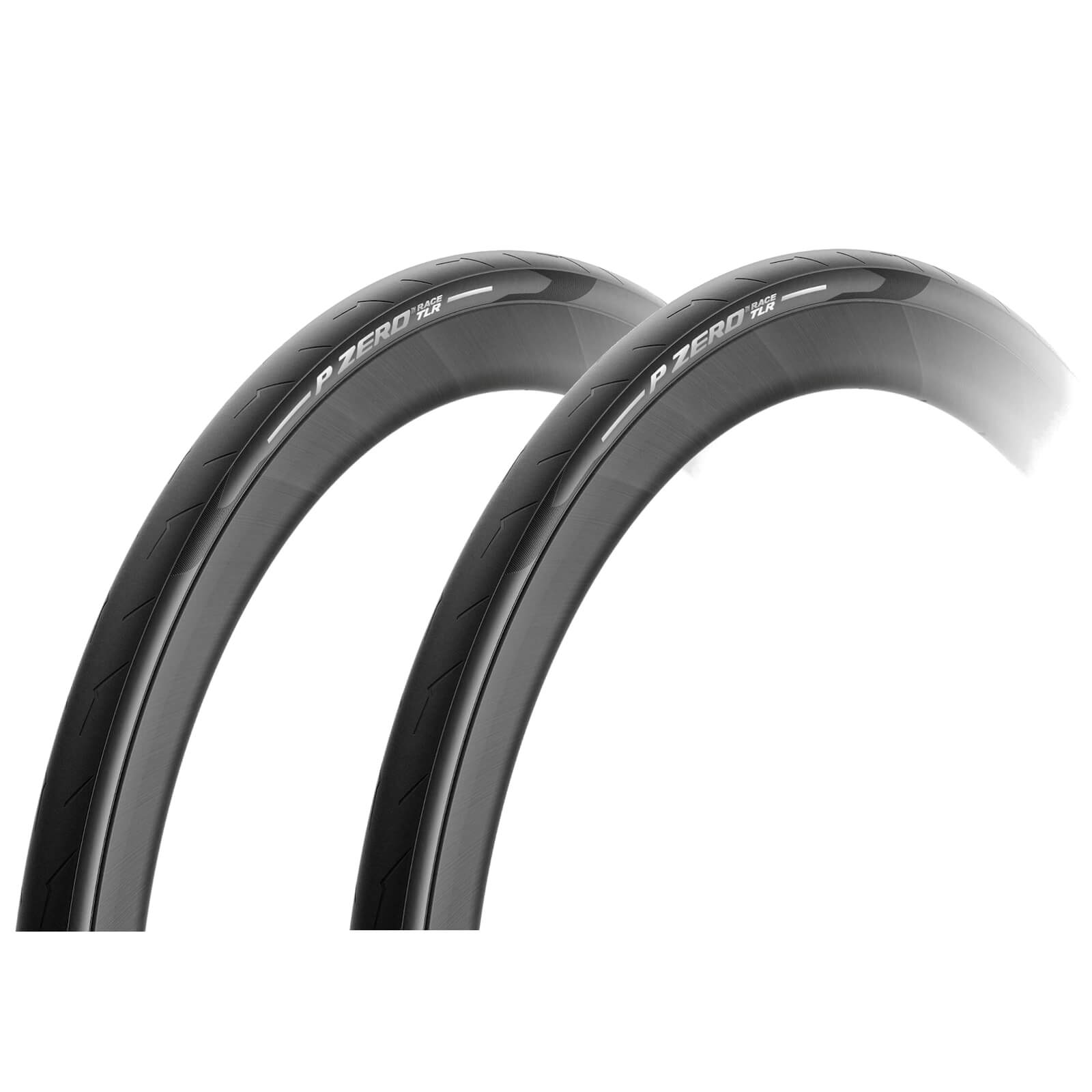 Pirelli P-Zero Race Tubeless Ready Clincher Road Tyre Twin Pack - 700 x 26mm