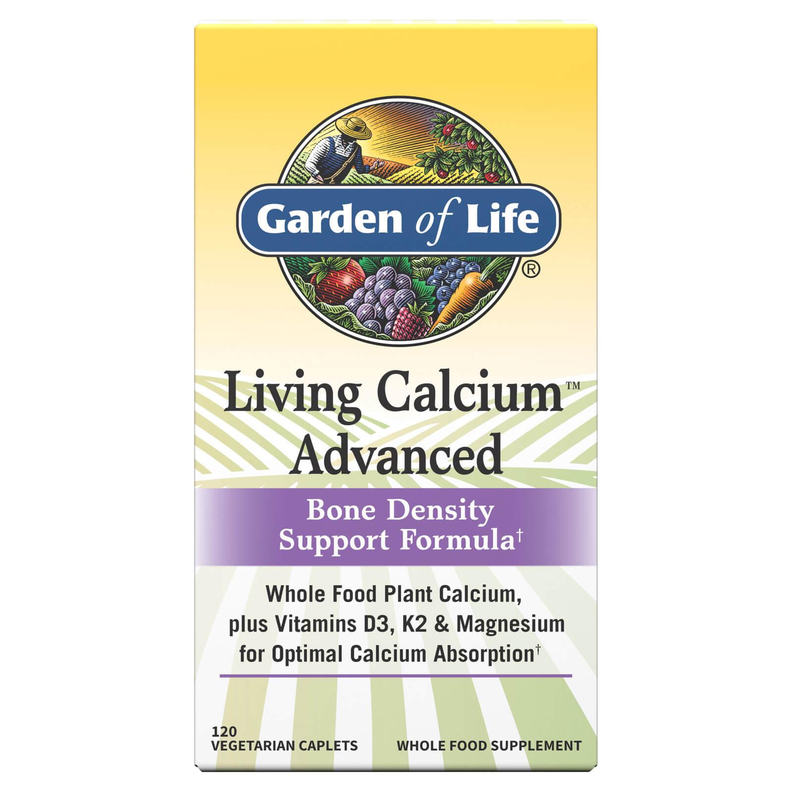 Garden of Life Living Calcium Advanced - 120 Tablets