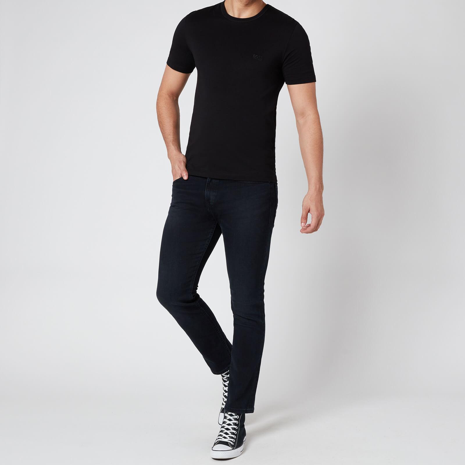 Boss Men's Delaware Bc Lp Slim Fit Jeans - Dark Blue - W38/L32