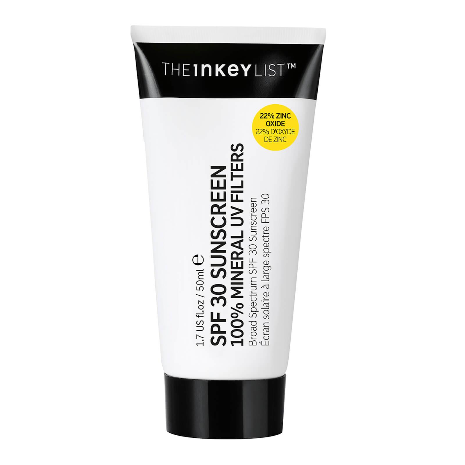 Купить The INKEY List SPF30 Sunscreen 100% Mineral UV Filters 50ml