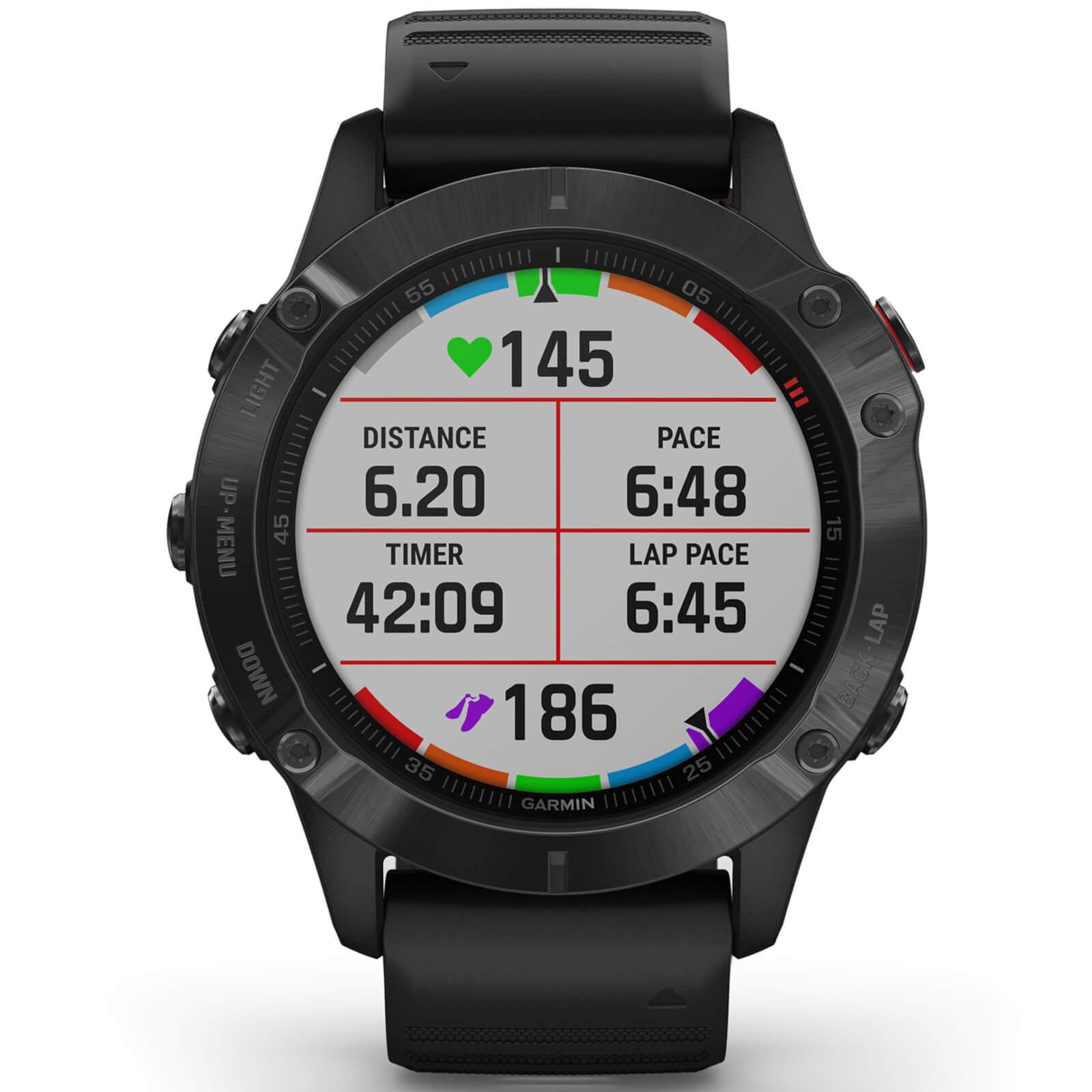 Garmin Fenix 6 Pro GPS Watch - BLACK/BLACK