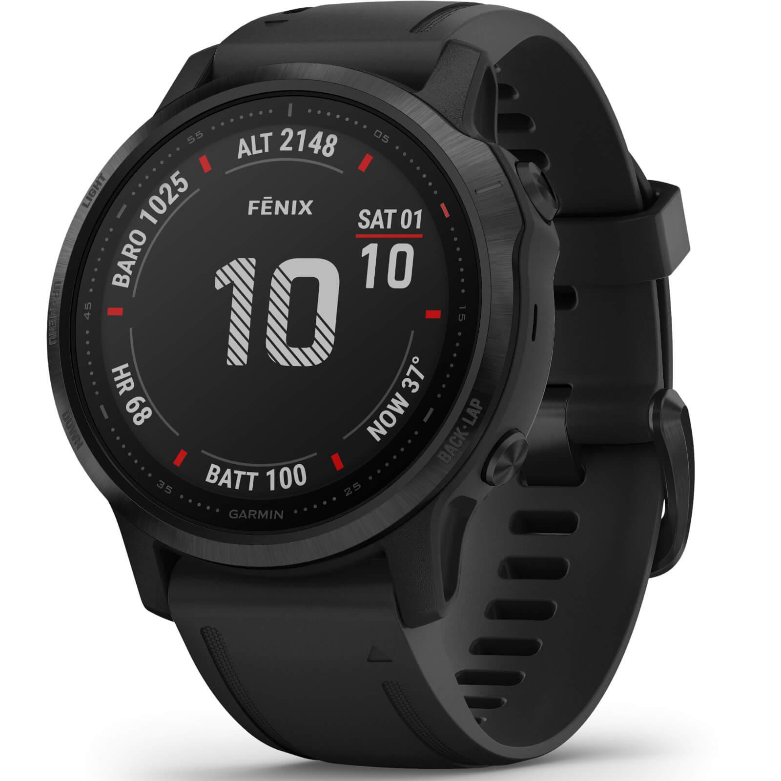 Garmin Fenix 6S Pro GPS Watch - BLACK/BLACK
