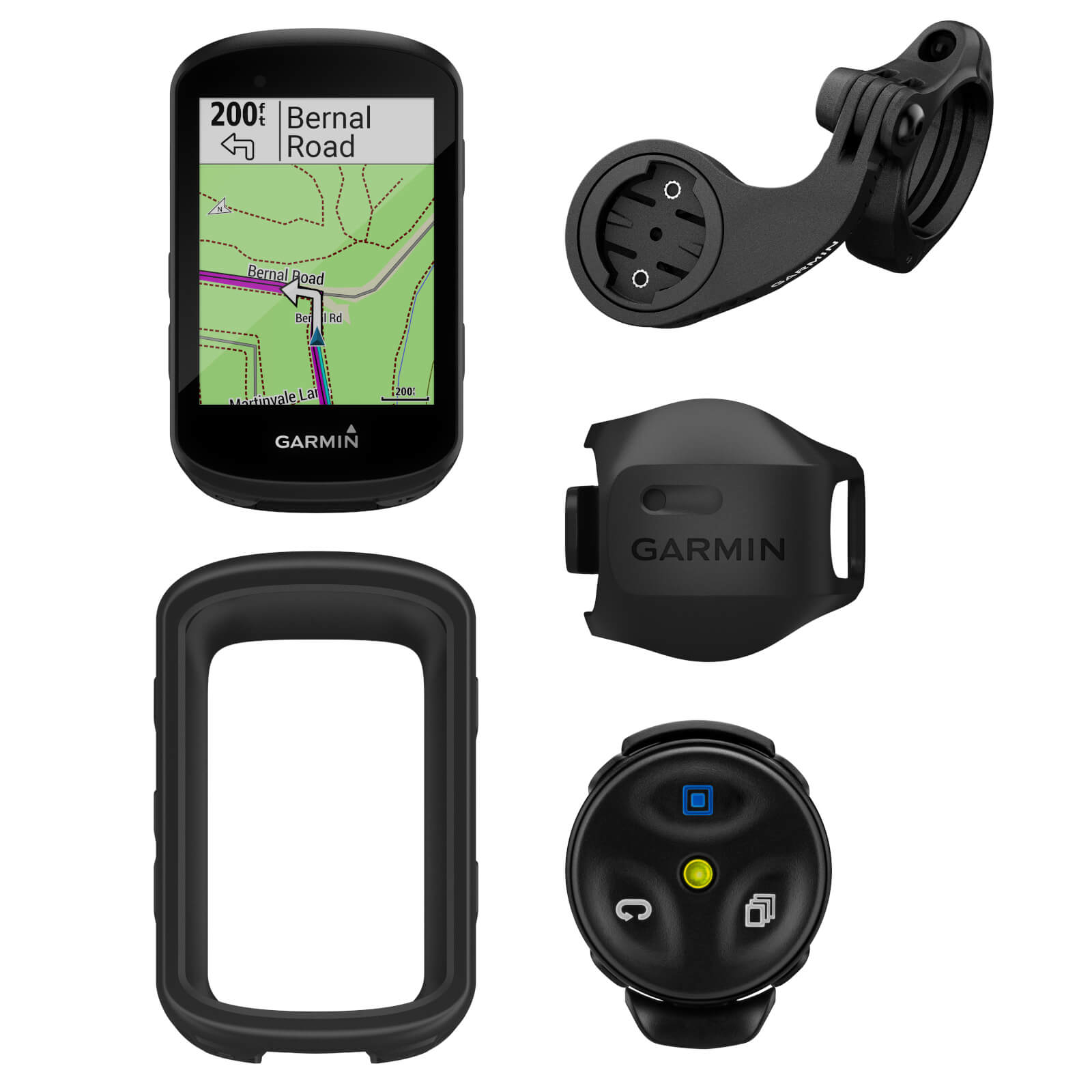 Garmin Edge 530 GPS Cycling Computer Dirt Bundle