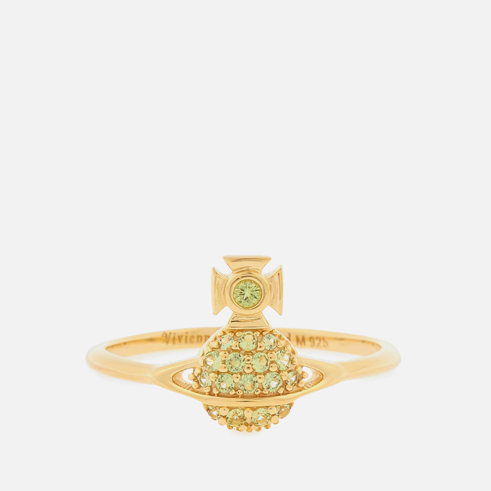 Vivienne Westwood Women's Tamia Ring - Gold Peridot