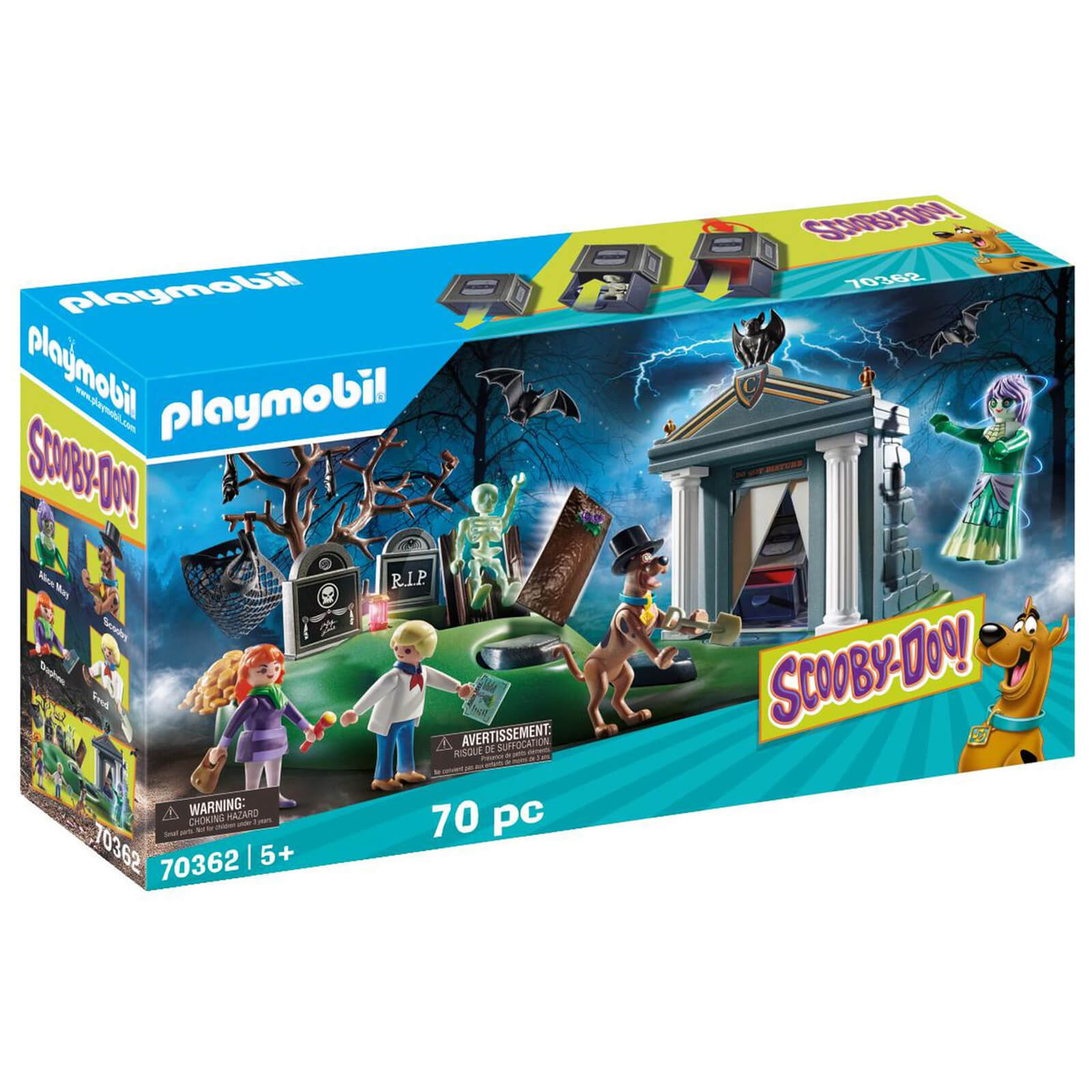 Playmobil Scooby Doo! Adventure On The Cemetery (70362)