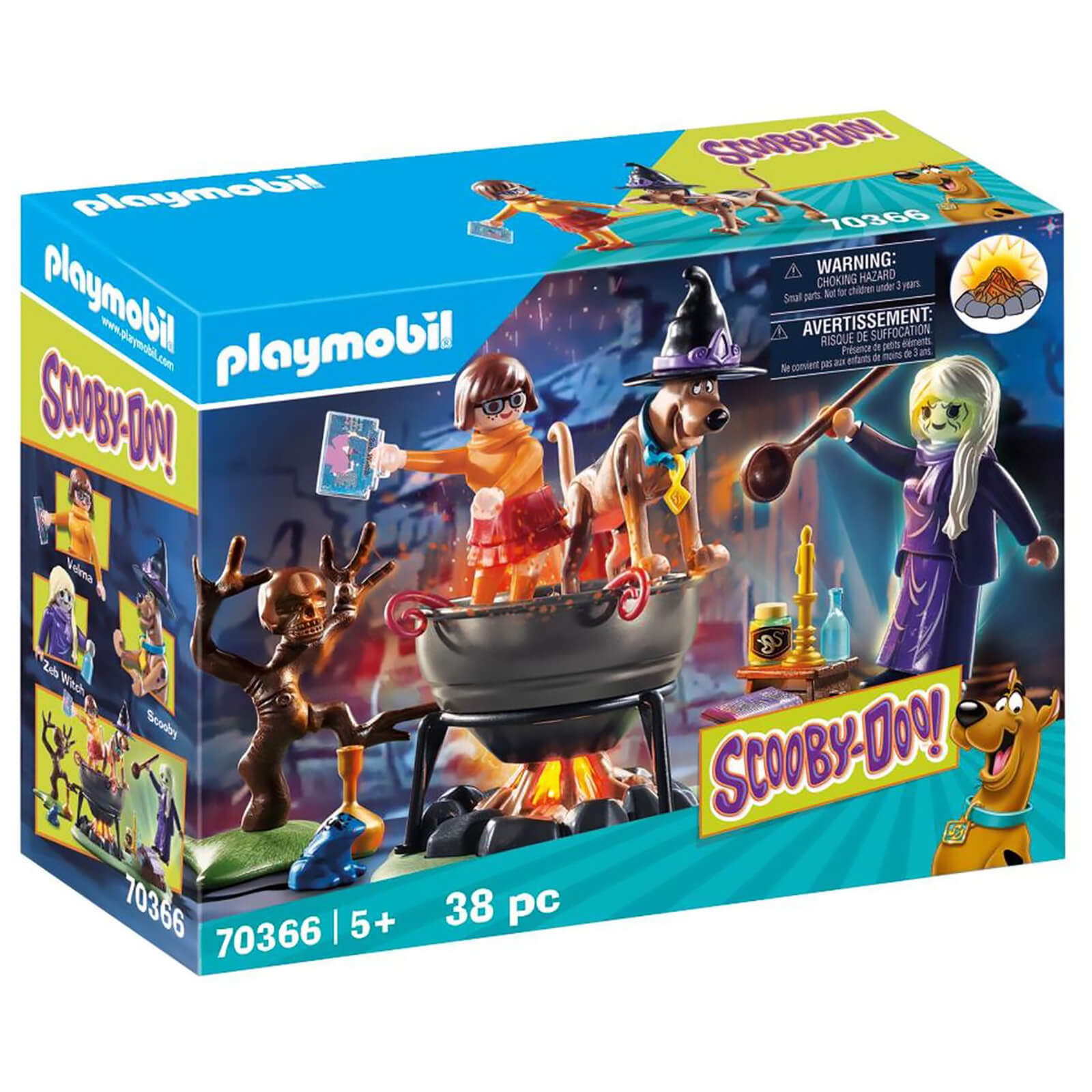 Playmobil Scooby Doo! Adventure In The Witchs Cauldron (70366)