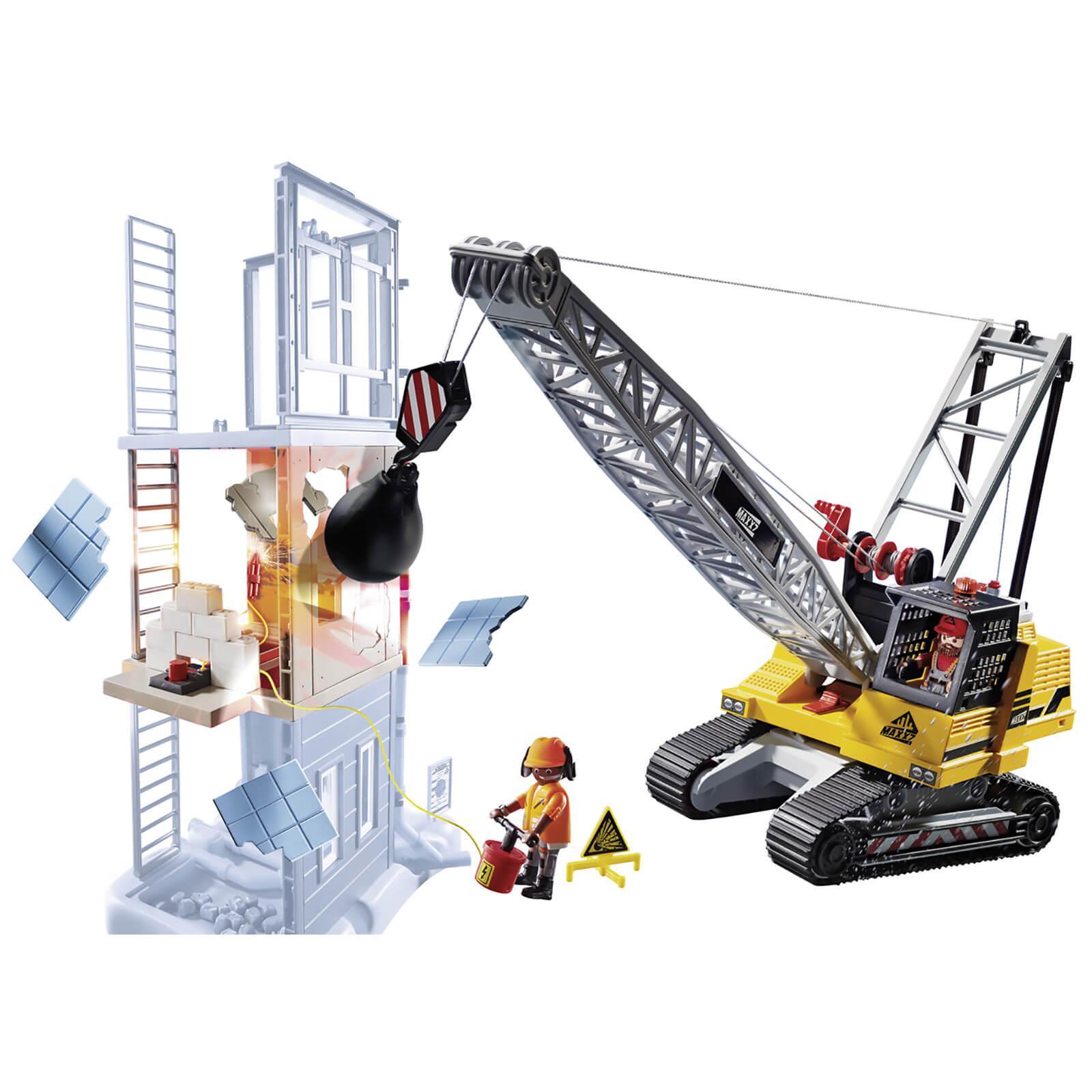 Playmobil City Action Demolition Crane (70442)