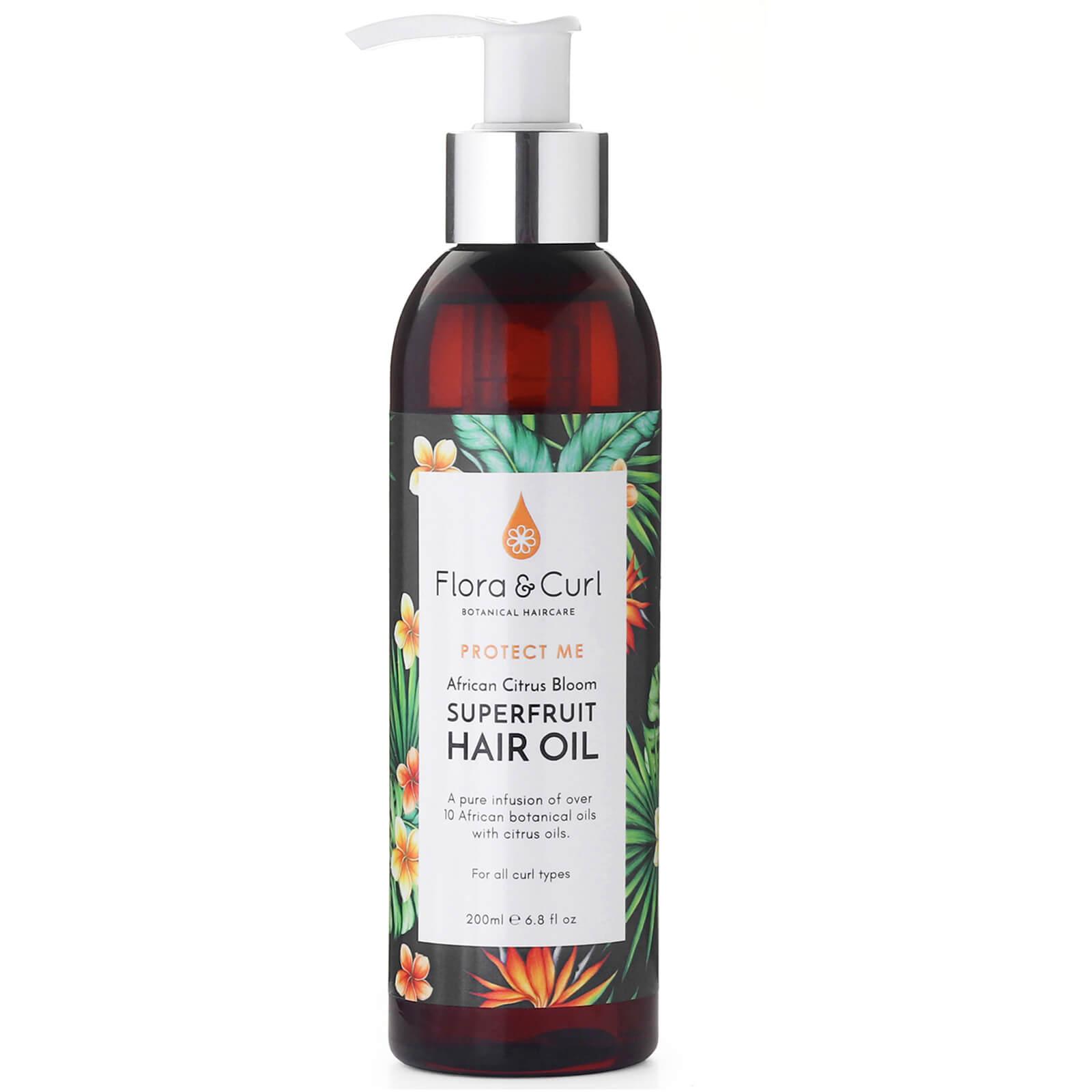 Купить Flora & Curl African Citrus Superfruit Hair Oil 200ml