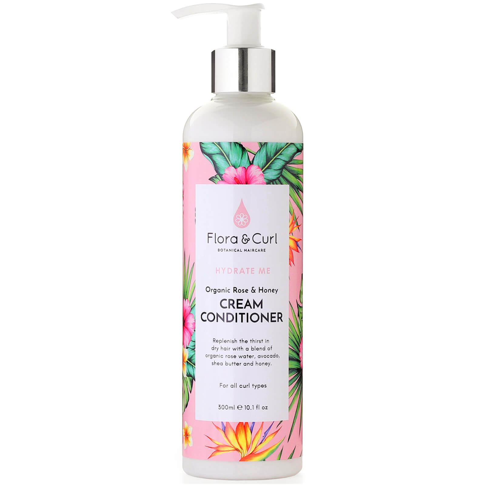 Купить Flora & Curl Organic Rose & Honey Cream Conditioner 300ml