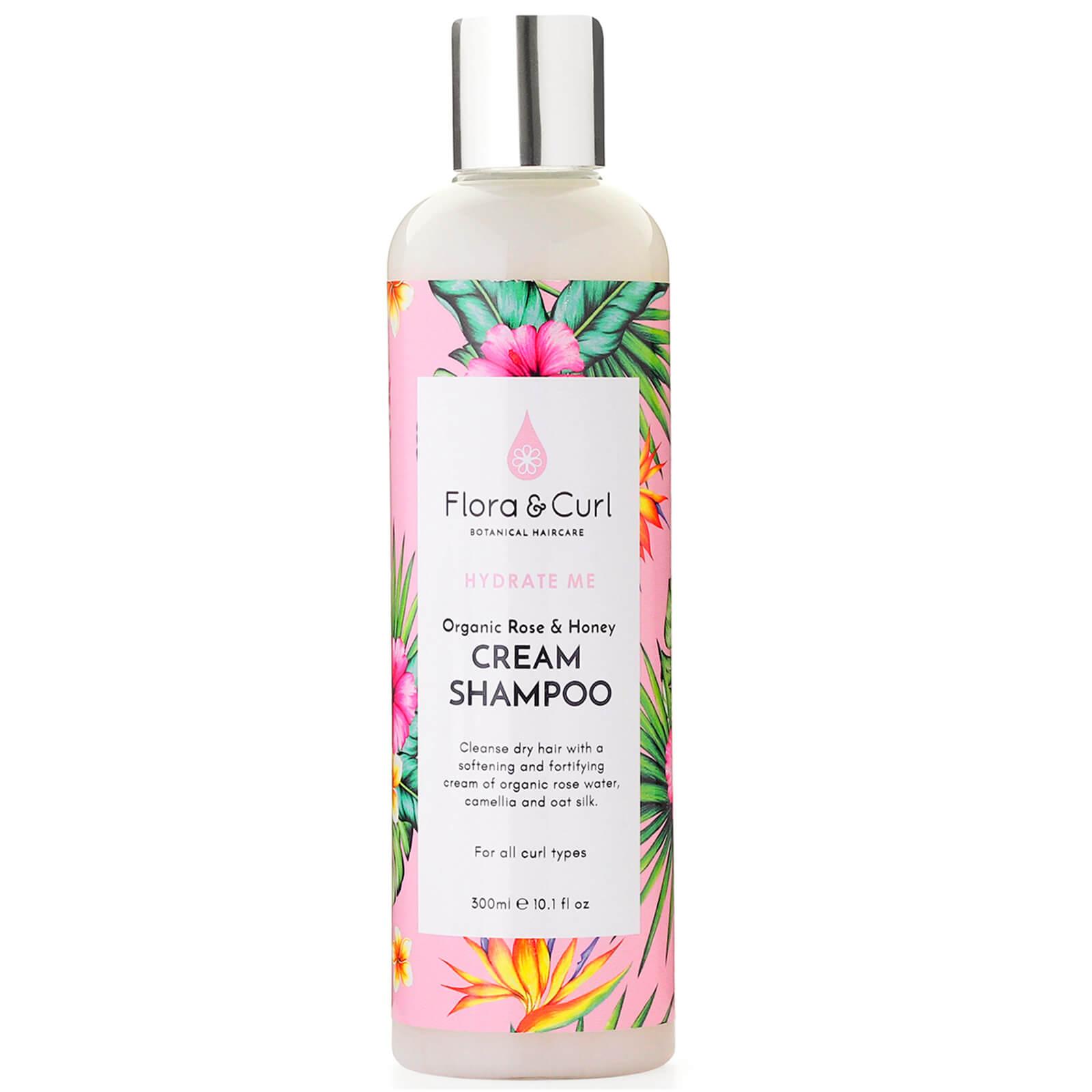 Купить Flora & Curl Organic Rose & Honey Cream Shampoo 300ml