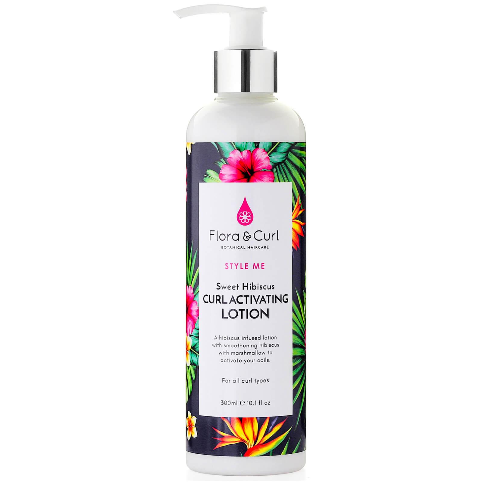 Купить Flora & Curl Sweet Hibiscus Curl Activating Lotion 300ml
