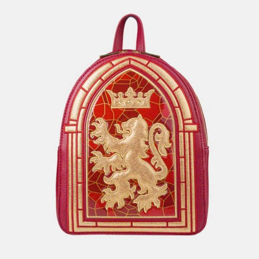 Danielle Nicole Harry Potter Gryffindor Stained Glass Window Backpack