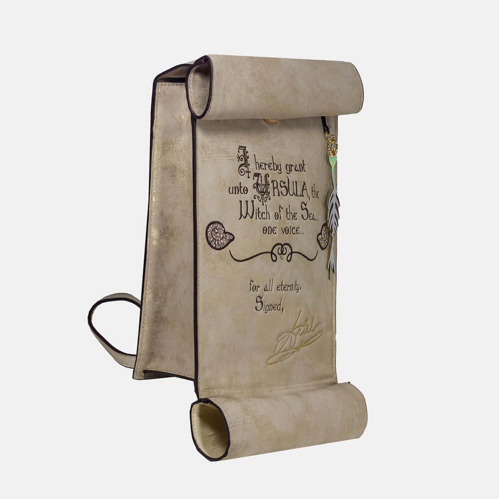 Image of Danielle Nicole Little Mermaid Ursula Scroll Backpack