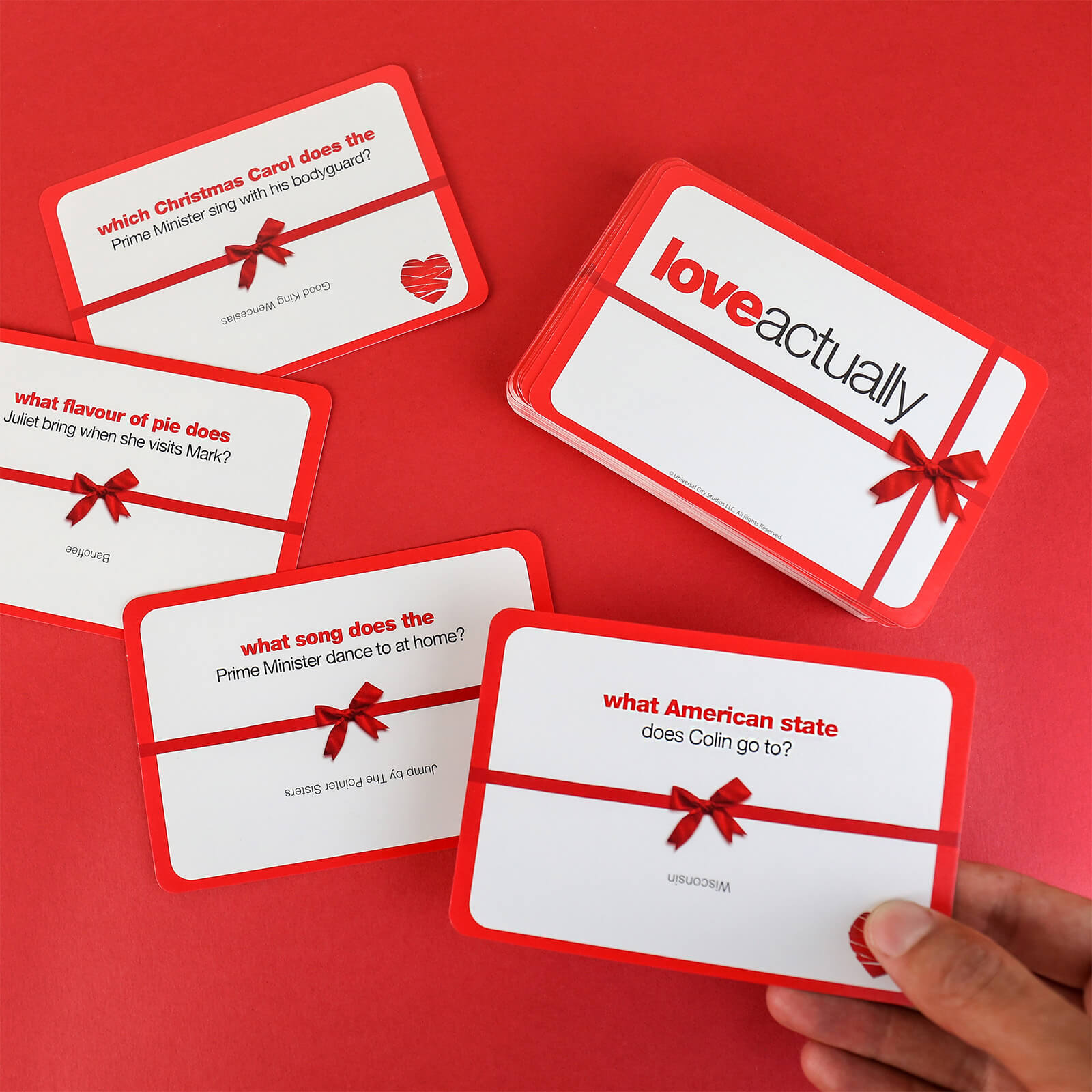 Image of Love Actually Trivia Cards