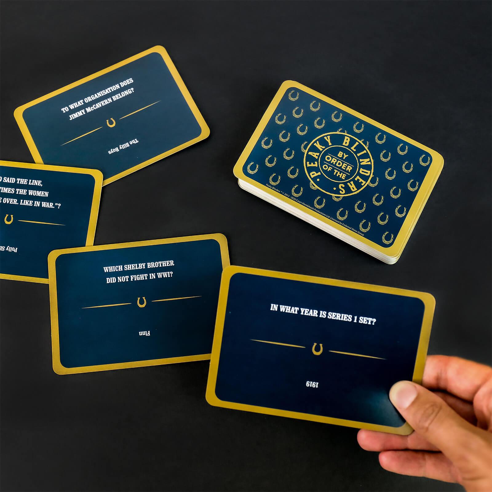 Image of Peaky Blinders Trivia Cards